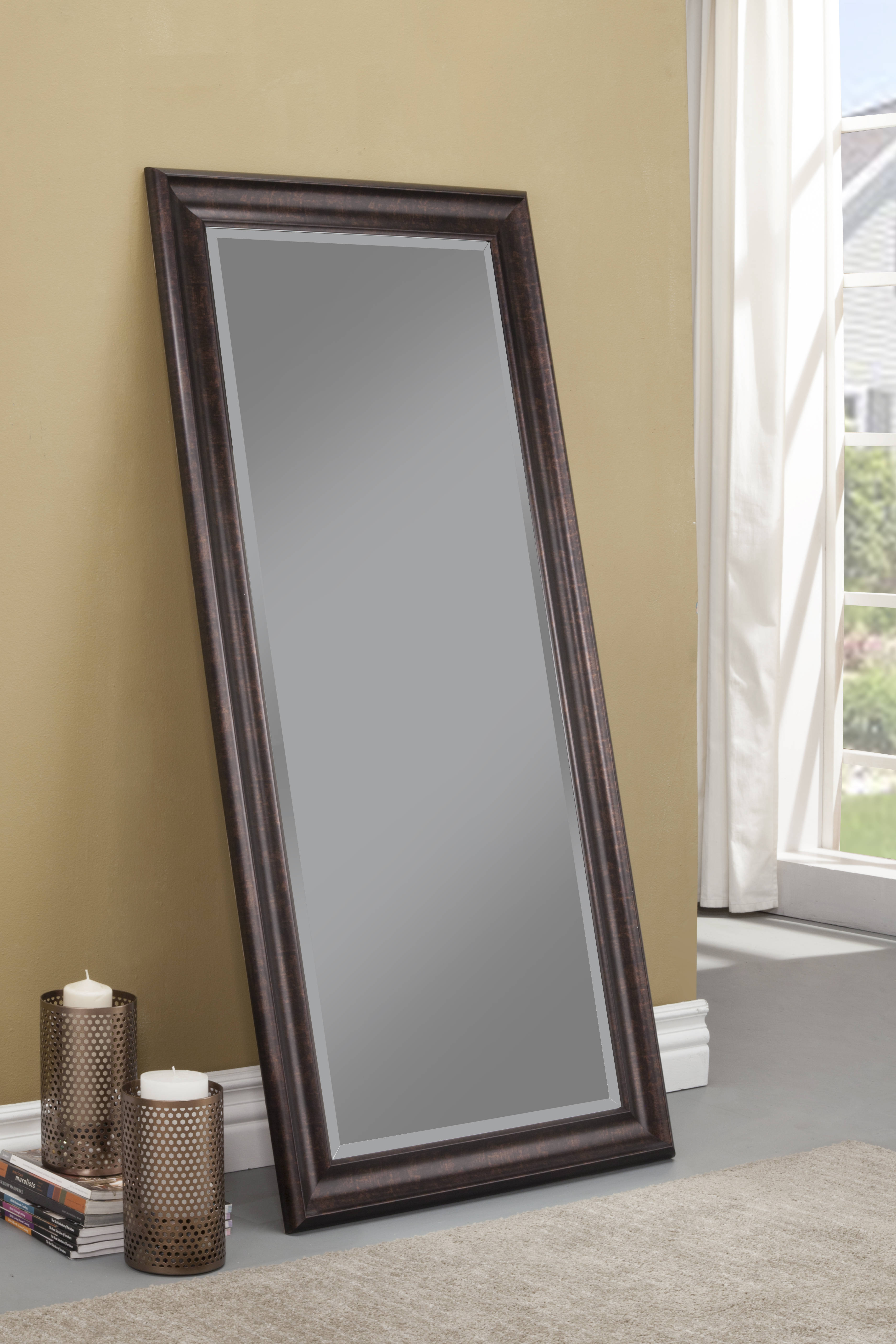 Martin Svensson Oil Rubbed Bronze Full Leaner Mirror The Classy Home