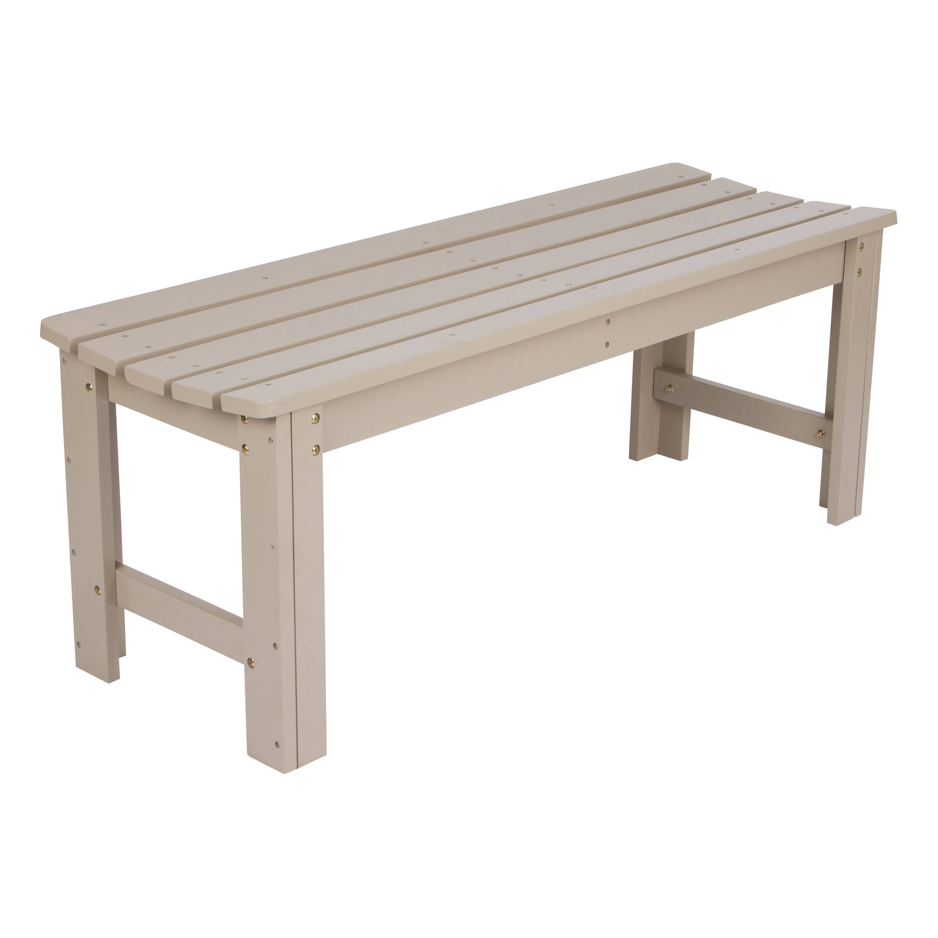 48 Inch Backless Garden Bench Click To Enlarge