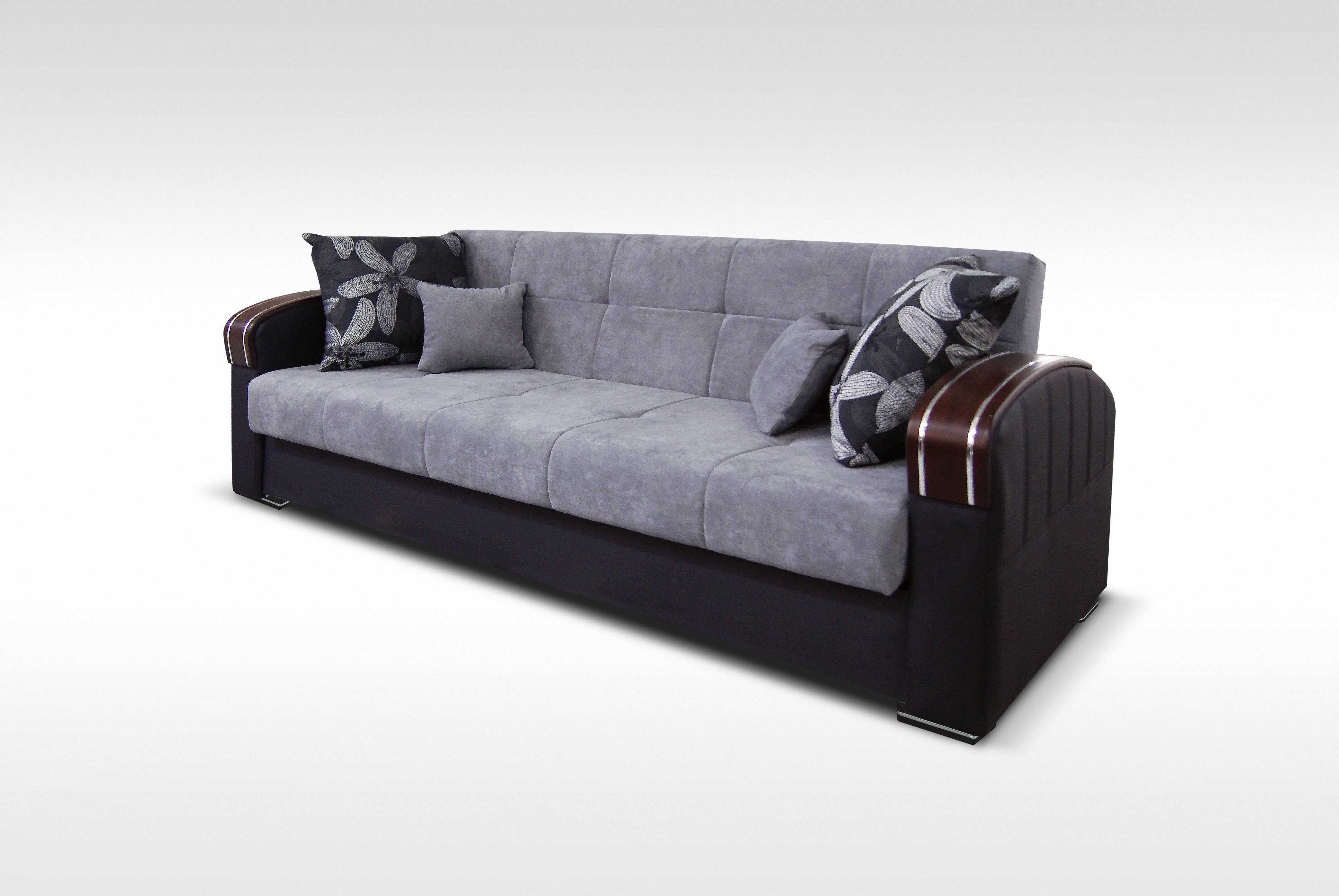 Genial Skyler Designs Samantha Gray Storage Sofa Bed Click To Enlarge ...