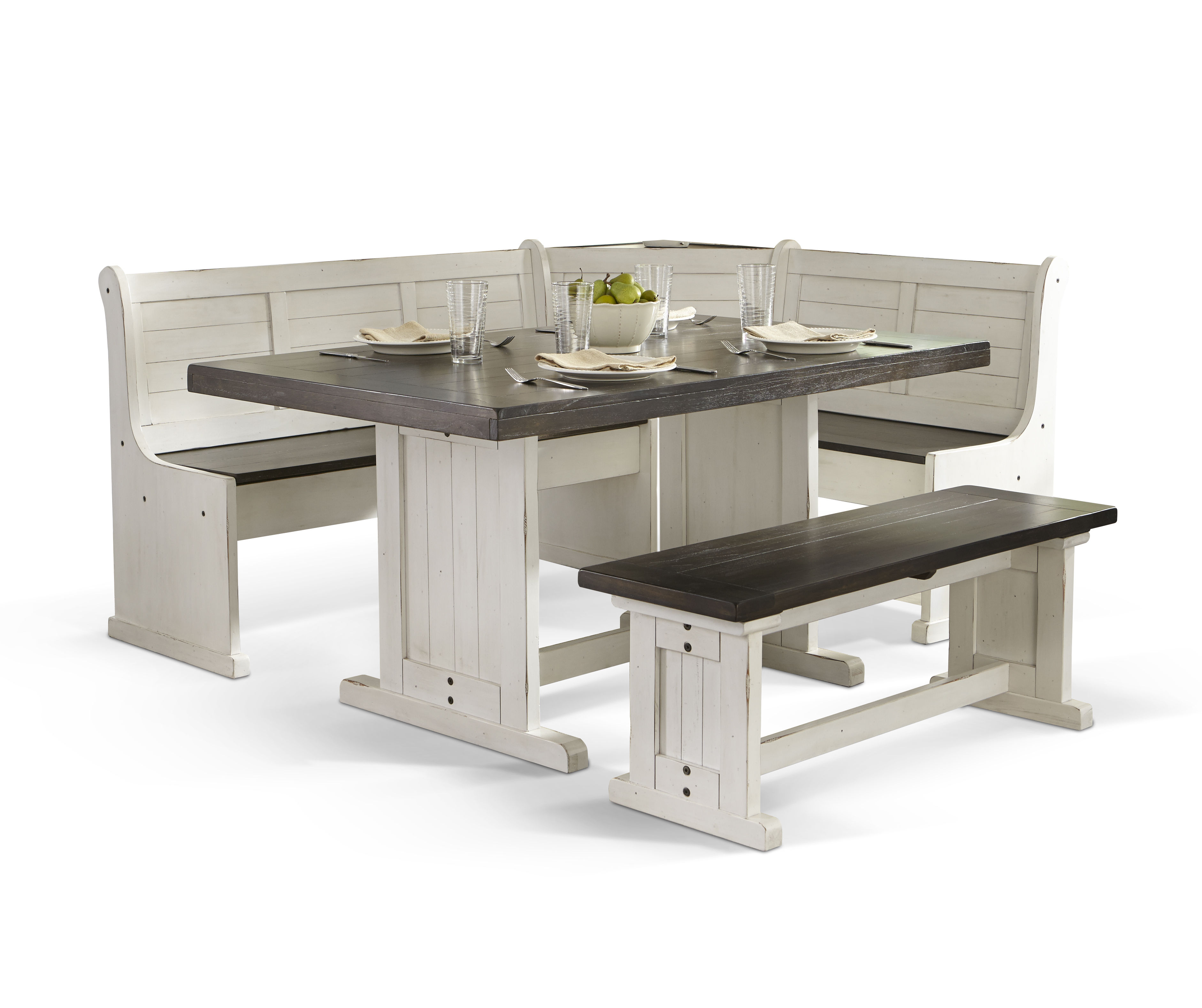 Sunny Designs Carriage House European Cottage 4pc Dining ...