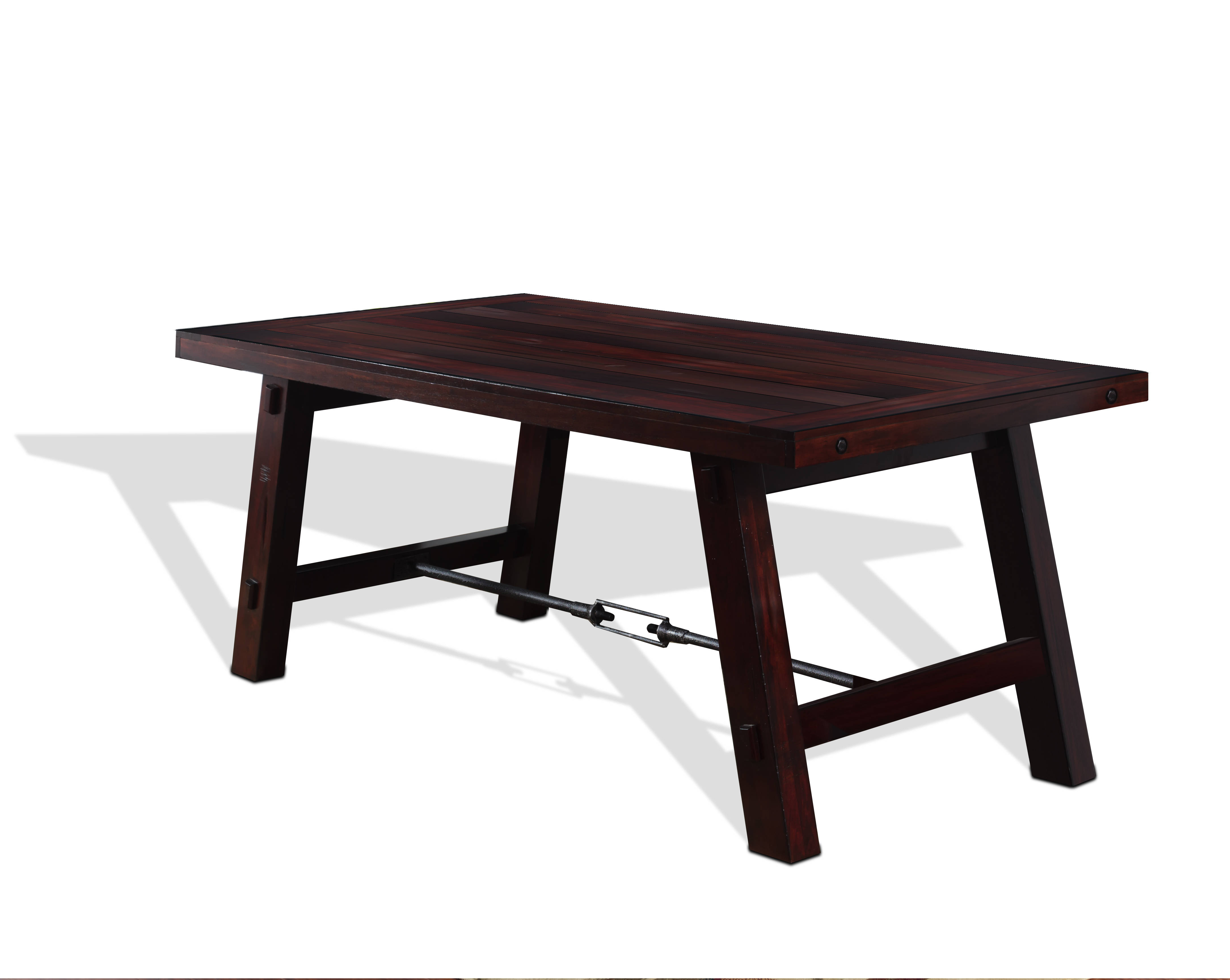 Sunny Designs Vineyard Rustic Mahogany Dining Table The  : SND 1367RM Clipped 1 P from www.theclassyhome.com size 4337 x 3456 jpeg 350kB
