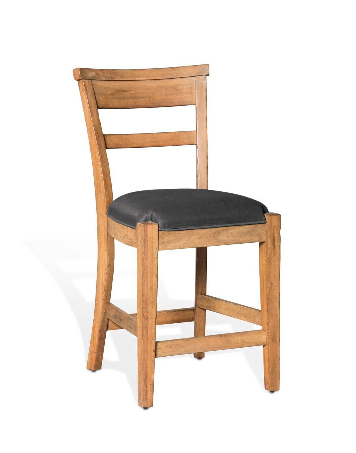 Stupendous 2 Sunny Designs 24 Inch Ladder Back Bar Stools Ncnpc Chair Design For Home Ncnpcorg