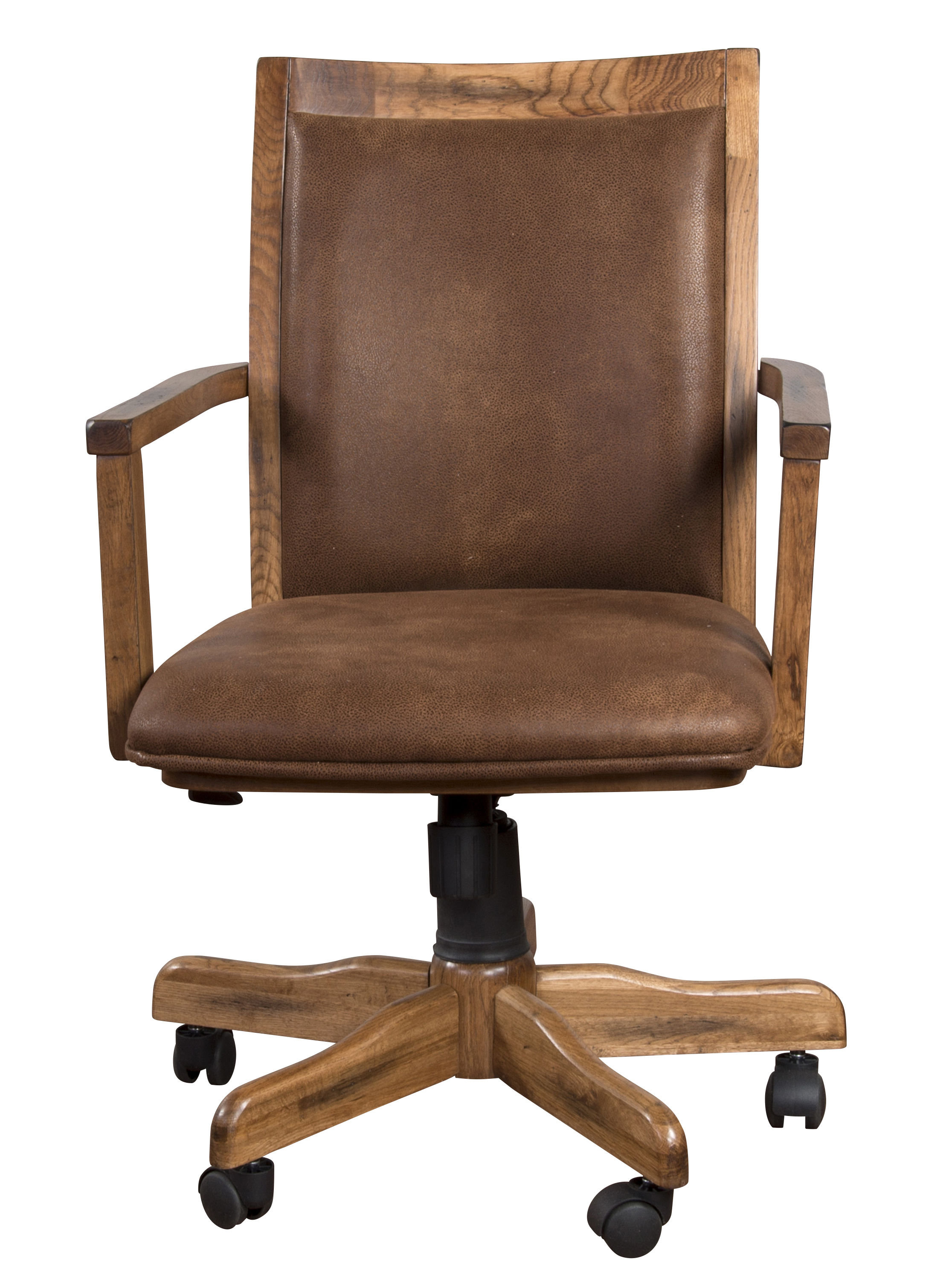 Sunny Designs Sedona Rustic Oak Office Chair The Classy Home