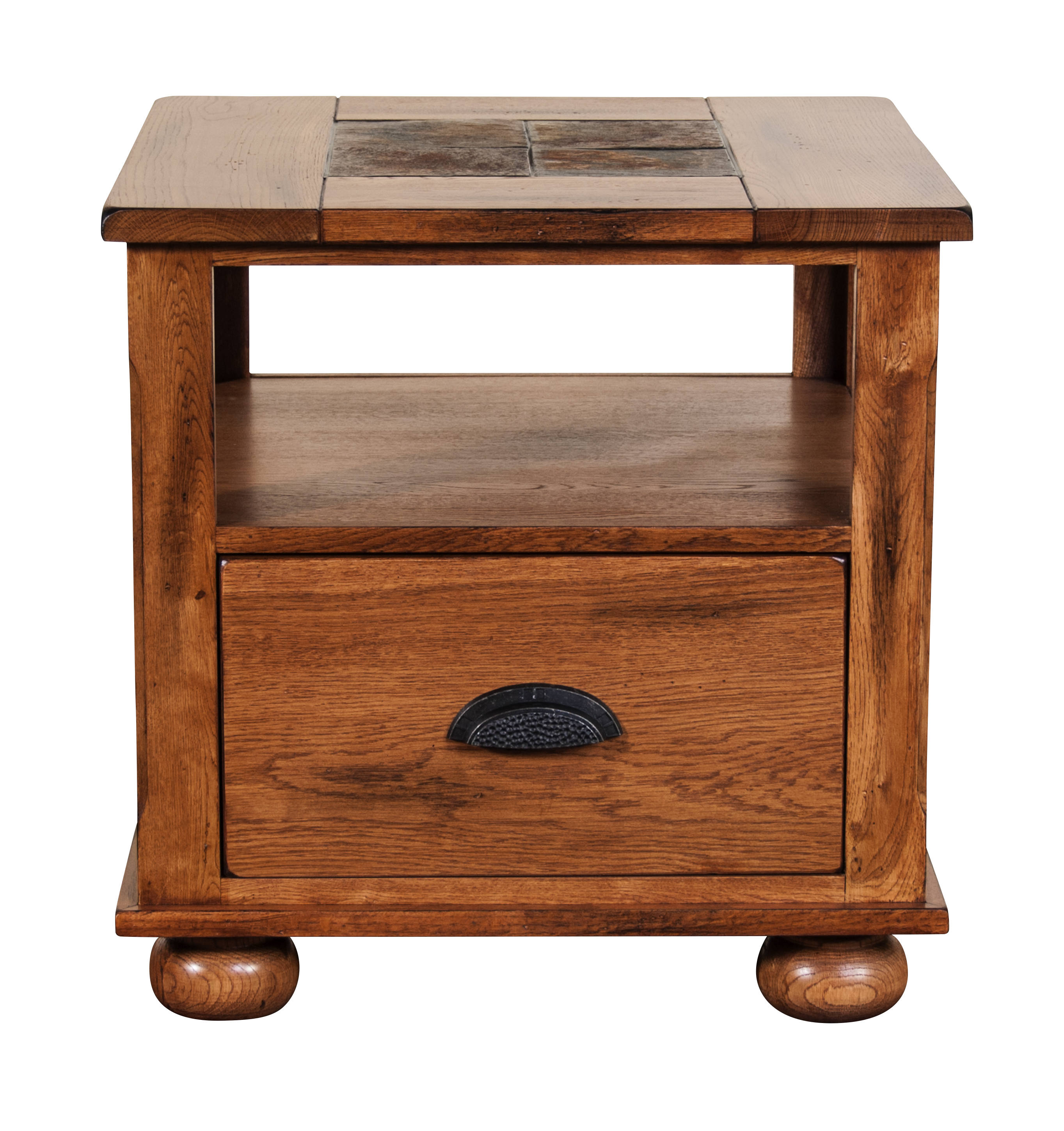 Storage End Table Click To Enlarge