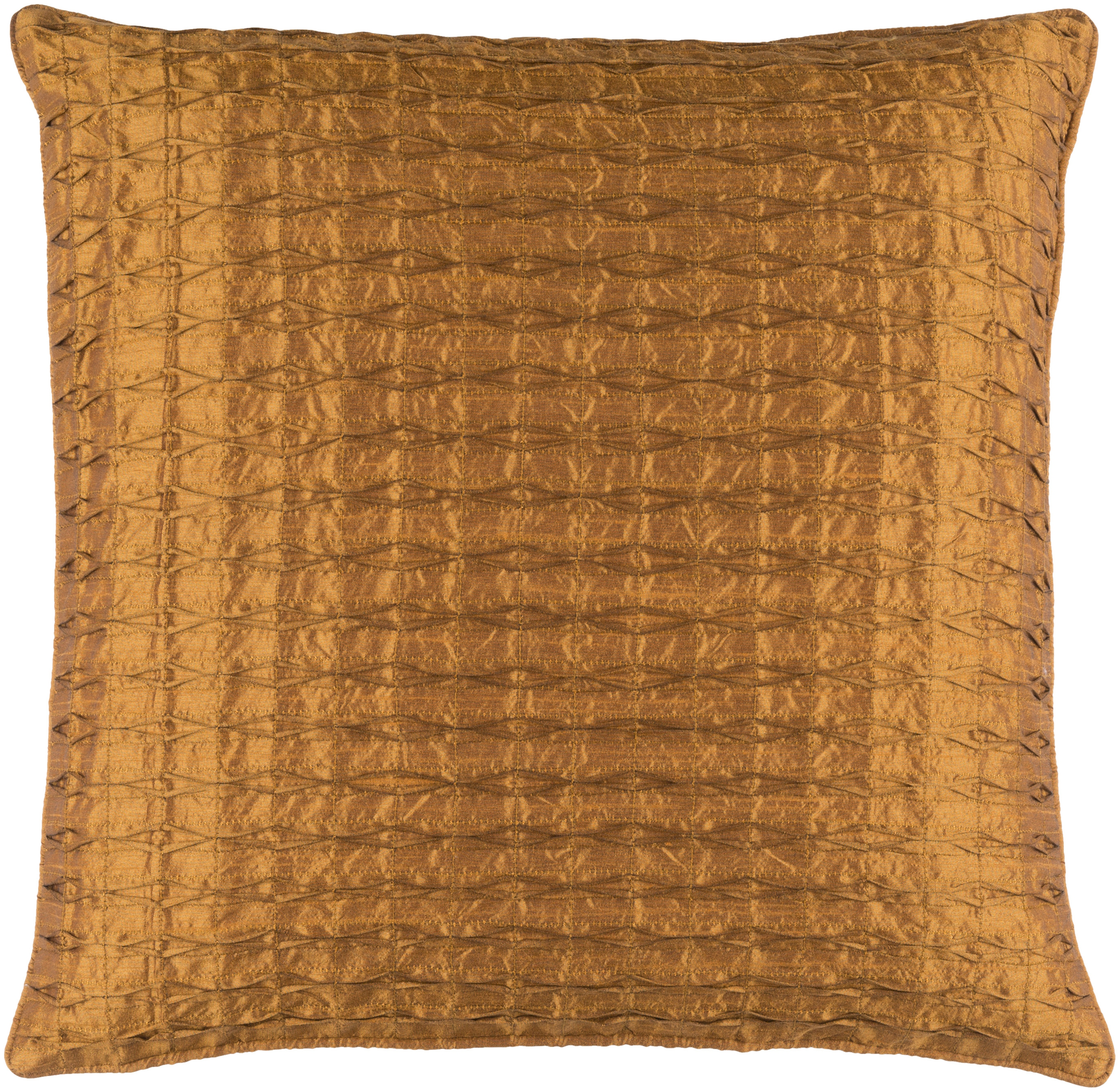 Rutledge Modern Tan Polyester Removable Cover Throw Pillow The
