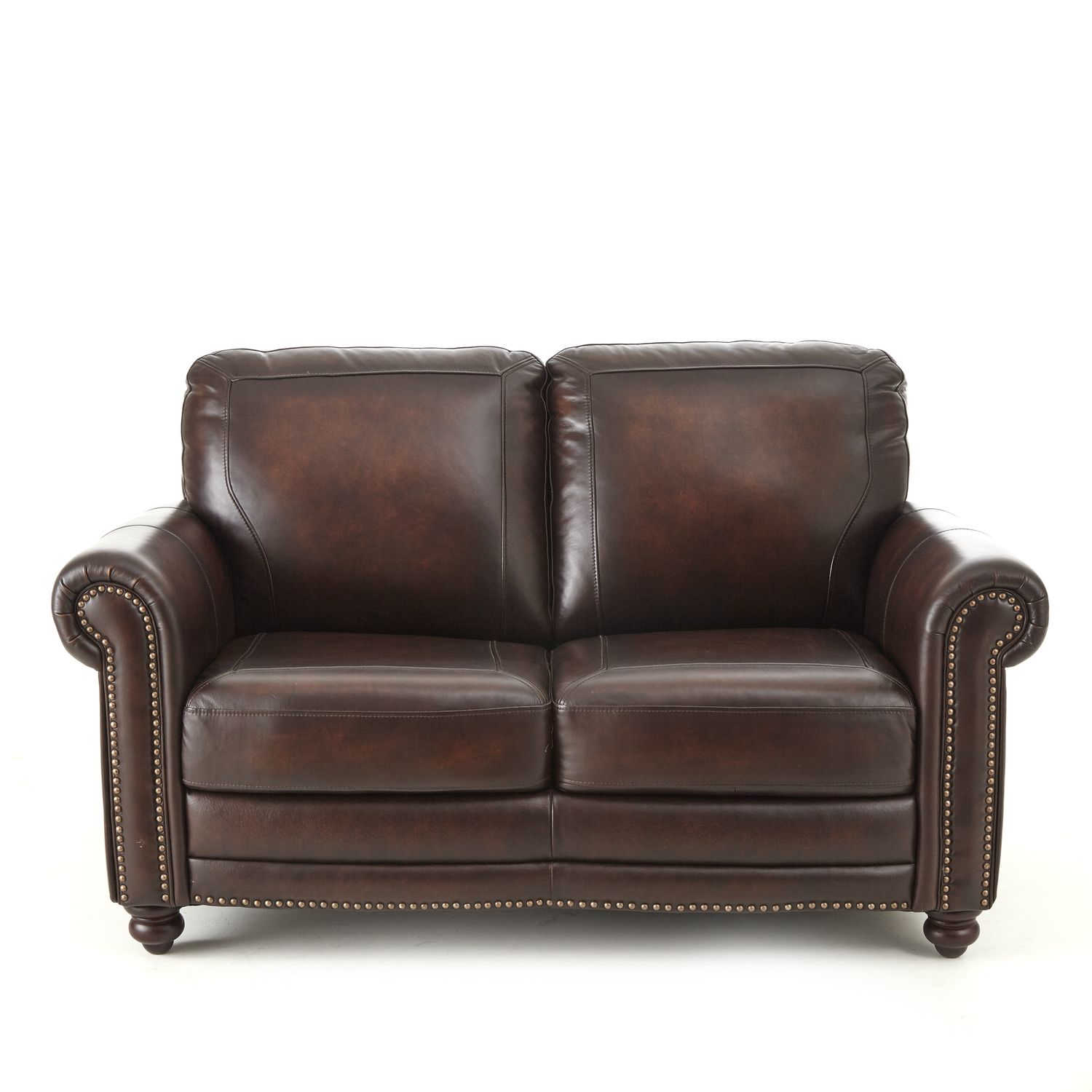 Steve Silver Ellington Brown Loveseat The Classy Home