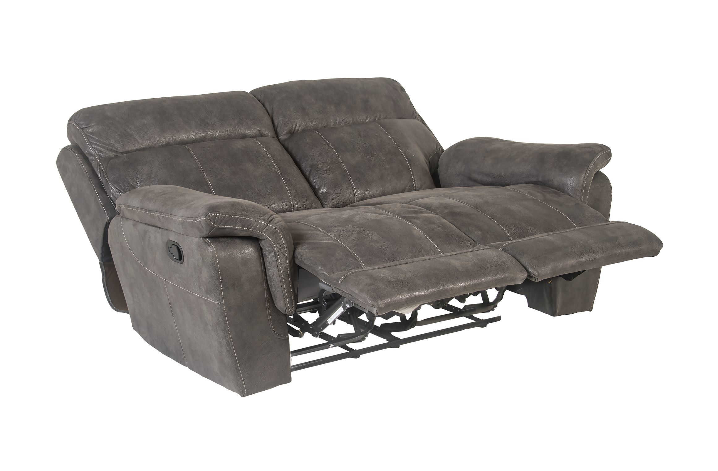 Admirable Steve Silver Rocco Gray Recliner Loveseat Pabps2019 Chair Design Images Pabps2019Com