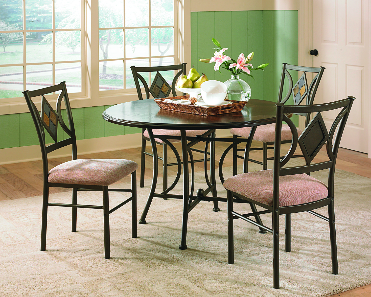Steve Silver Tacoma 5pc Dining Room Set Click To Enlarge