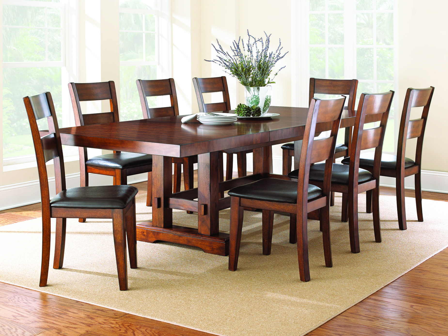 Steve Silver Za 9pc Dining Room Set Click To Enlarge