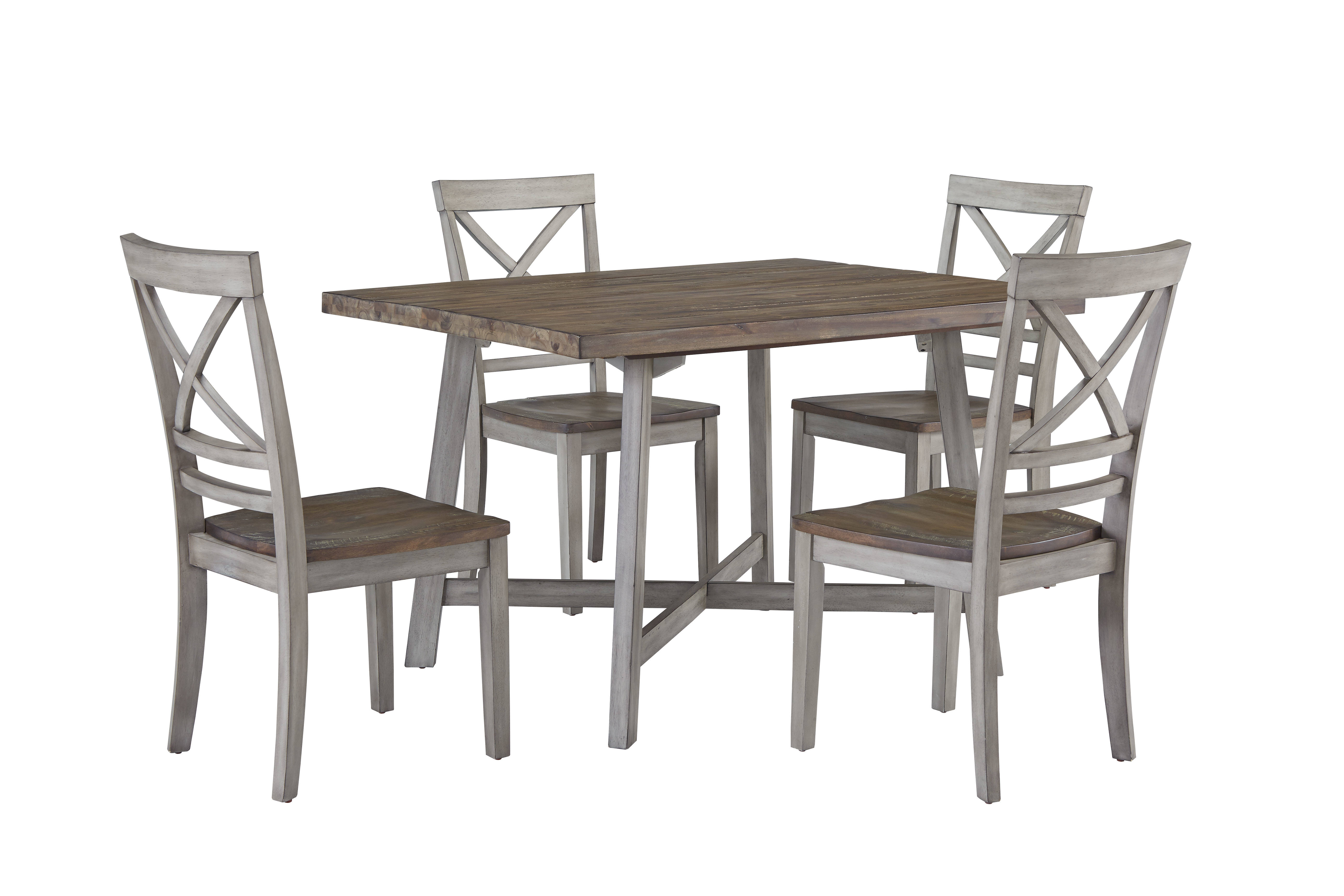 Standard Furniture Fairhaven Grey 5pc Dining Room Set