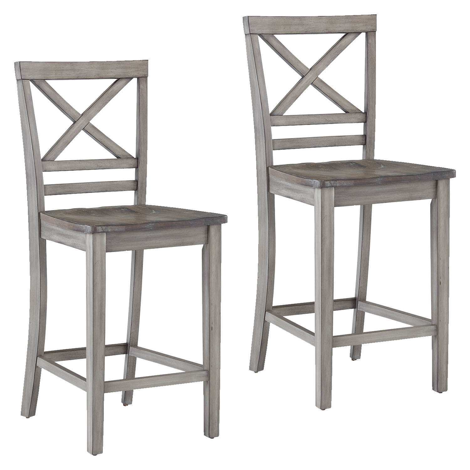 Grey Counter Height Barstools