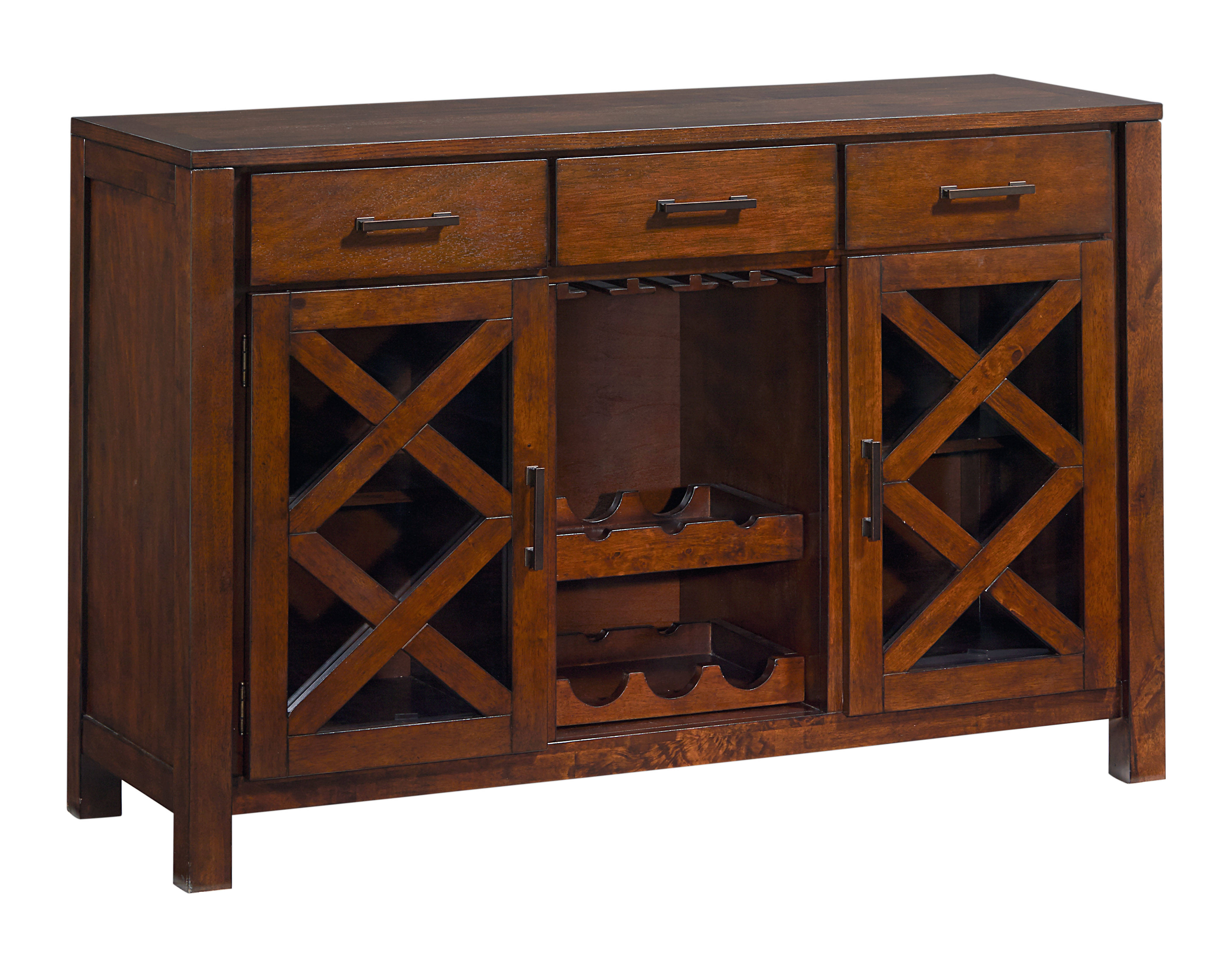 Standard Furniture Omaha Saddle Brown Sideboard The Classy Home