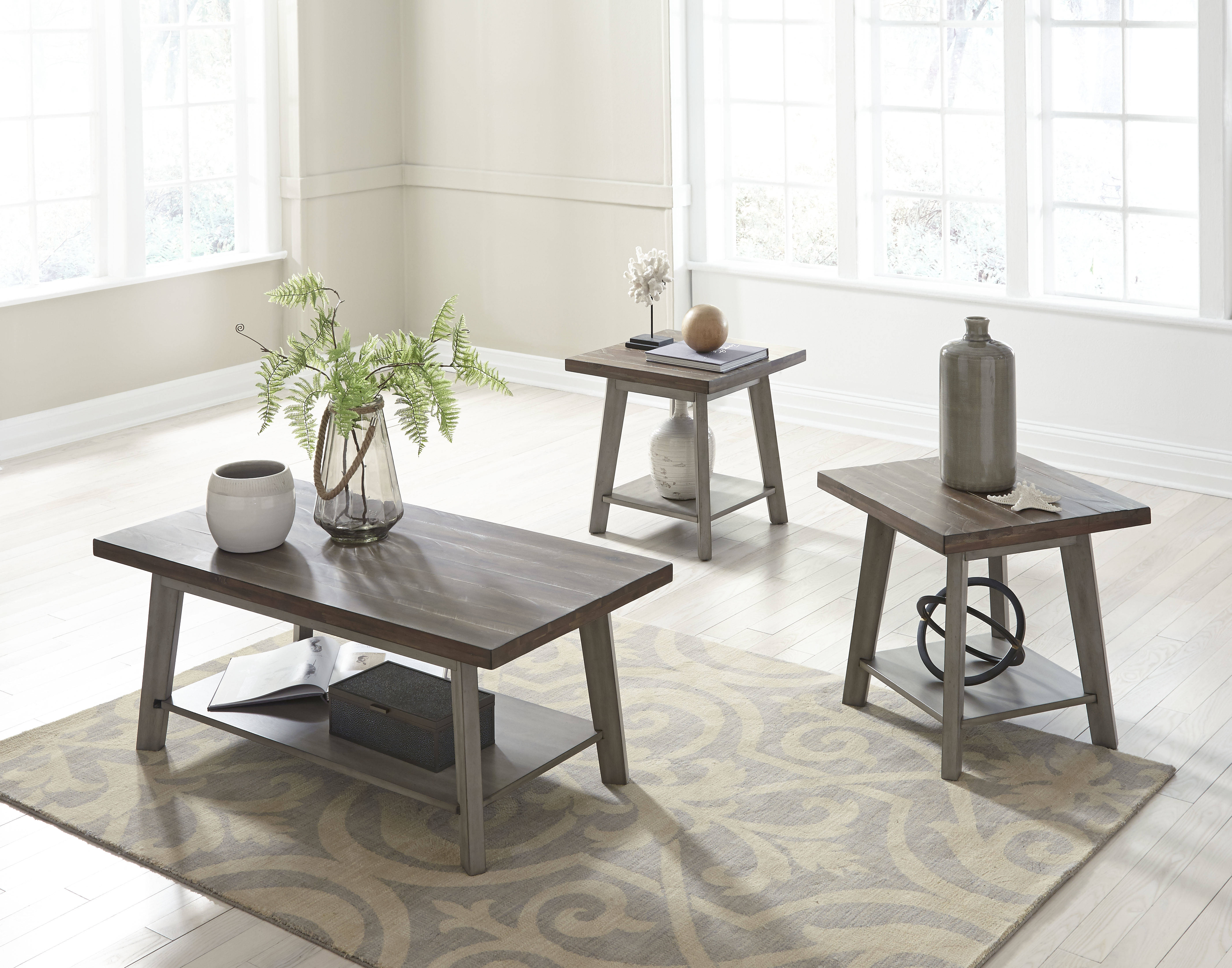 Standard Furniture Fairhaven Oak Grey 3 In 1 Pack The Cly Home