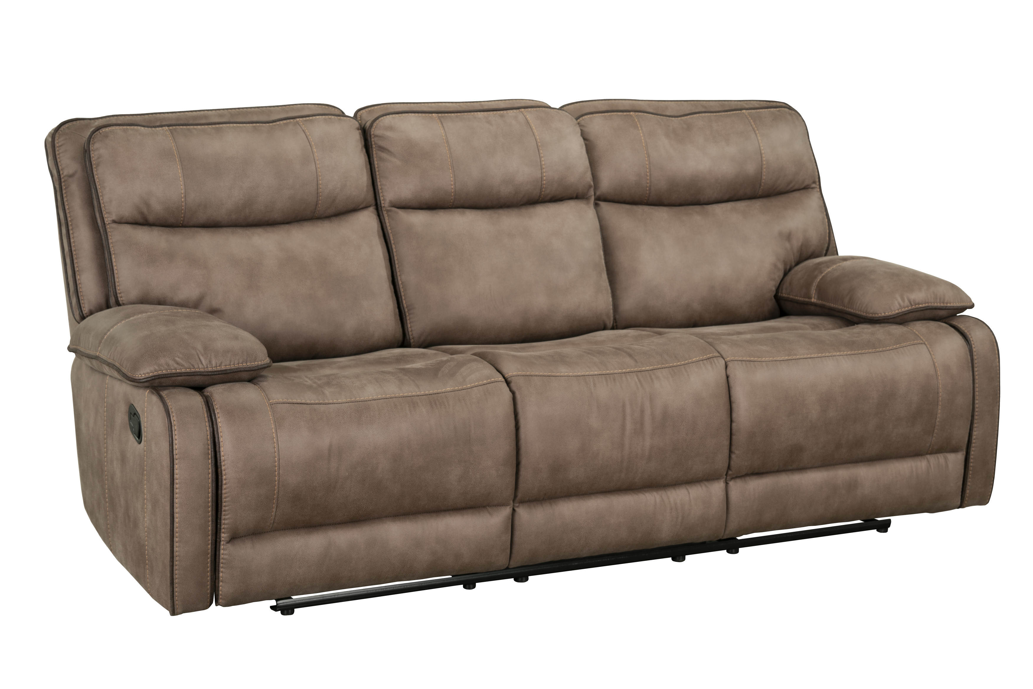 Standard Furniture Colleton Beige Manual Reclining Sofa Click To Enlarge