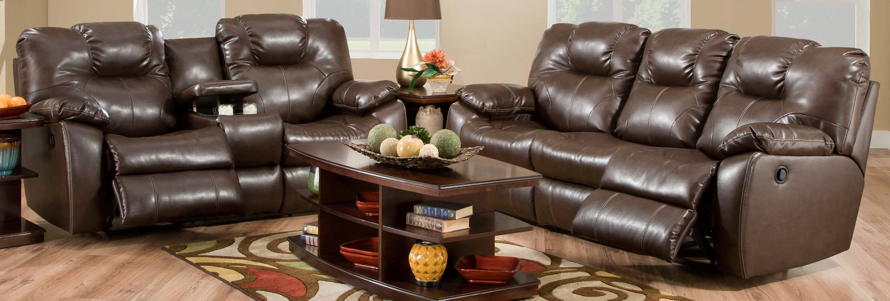 Cool Southern Motion Avalon Brown Dark Roast Double Reclining Sofa And Loveseat Set Gmtry Best Dining Table And Chair Ideas Images Gmtryco