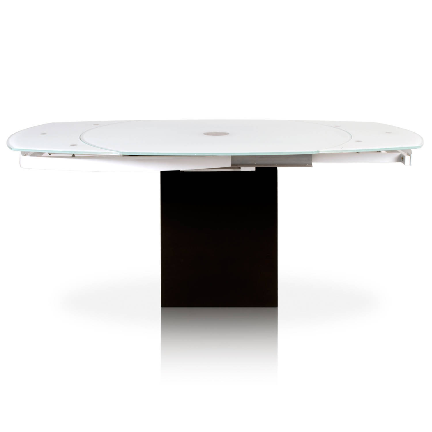 White Extension Dining Table Click To Enlarge