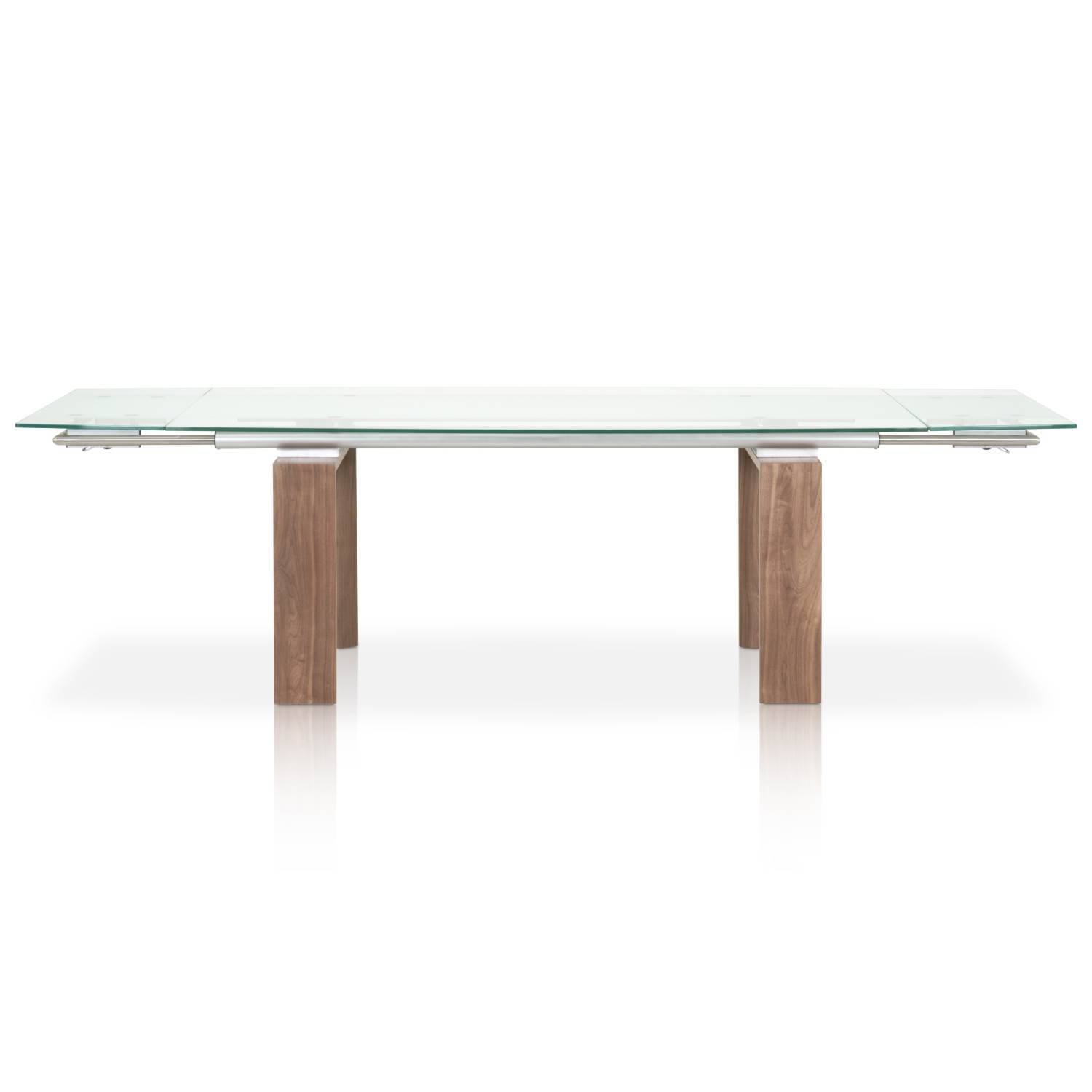 ... Walnut Extension Dining Table Click To Enlarge ...