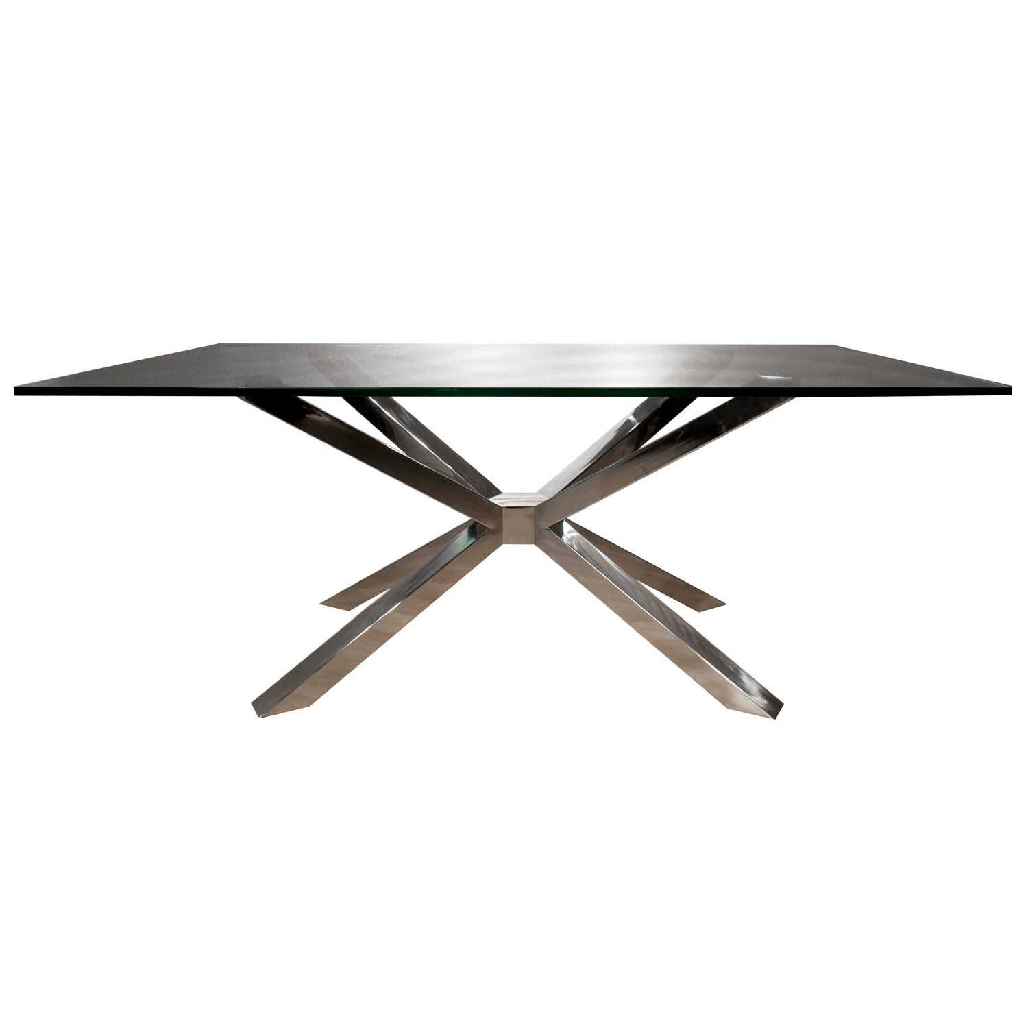 Star International Mantis Rectangle Dining Table Base Click To Enlarge