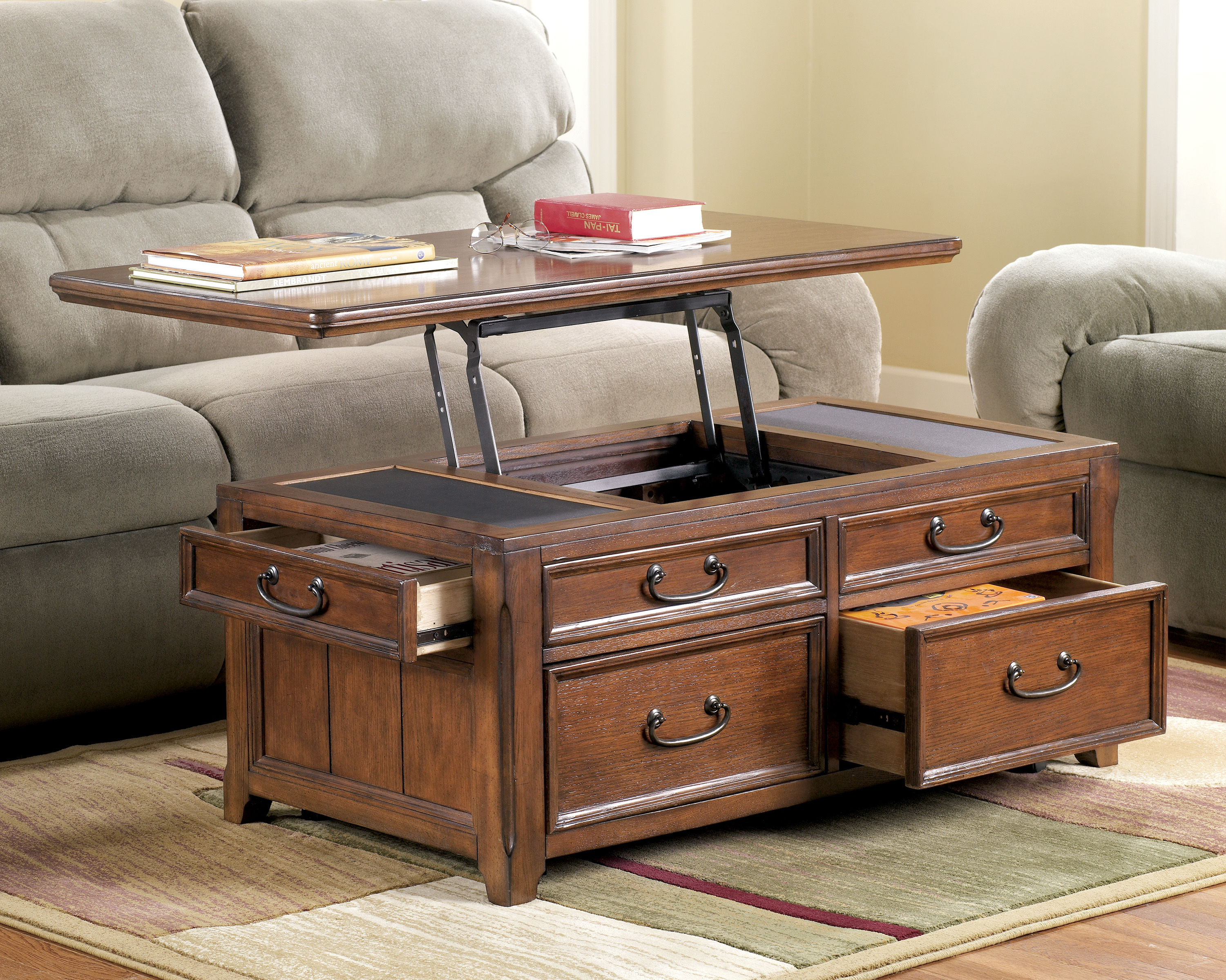 Woodboro traditional dark brown wood 3pc coffee table set click to enlarge geotapseo Image collections