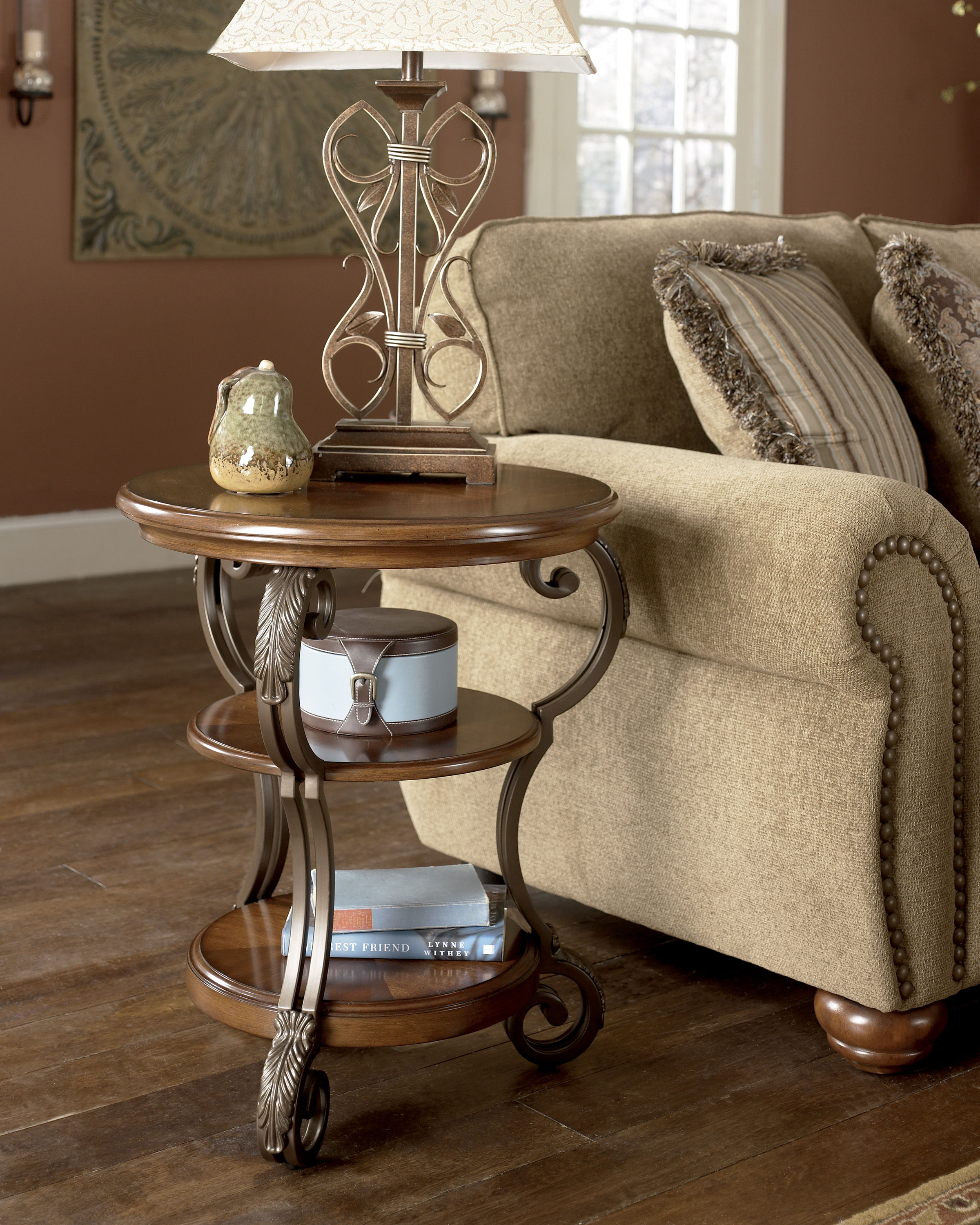 Ashley Furniture Nestor Chair Side Table The Classy Home