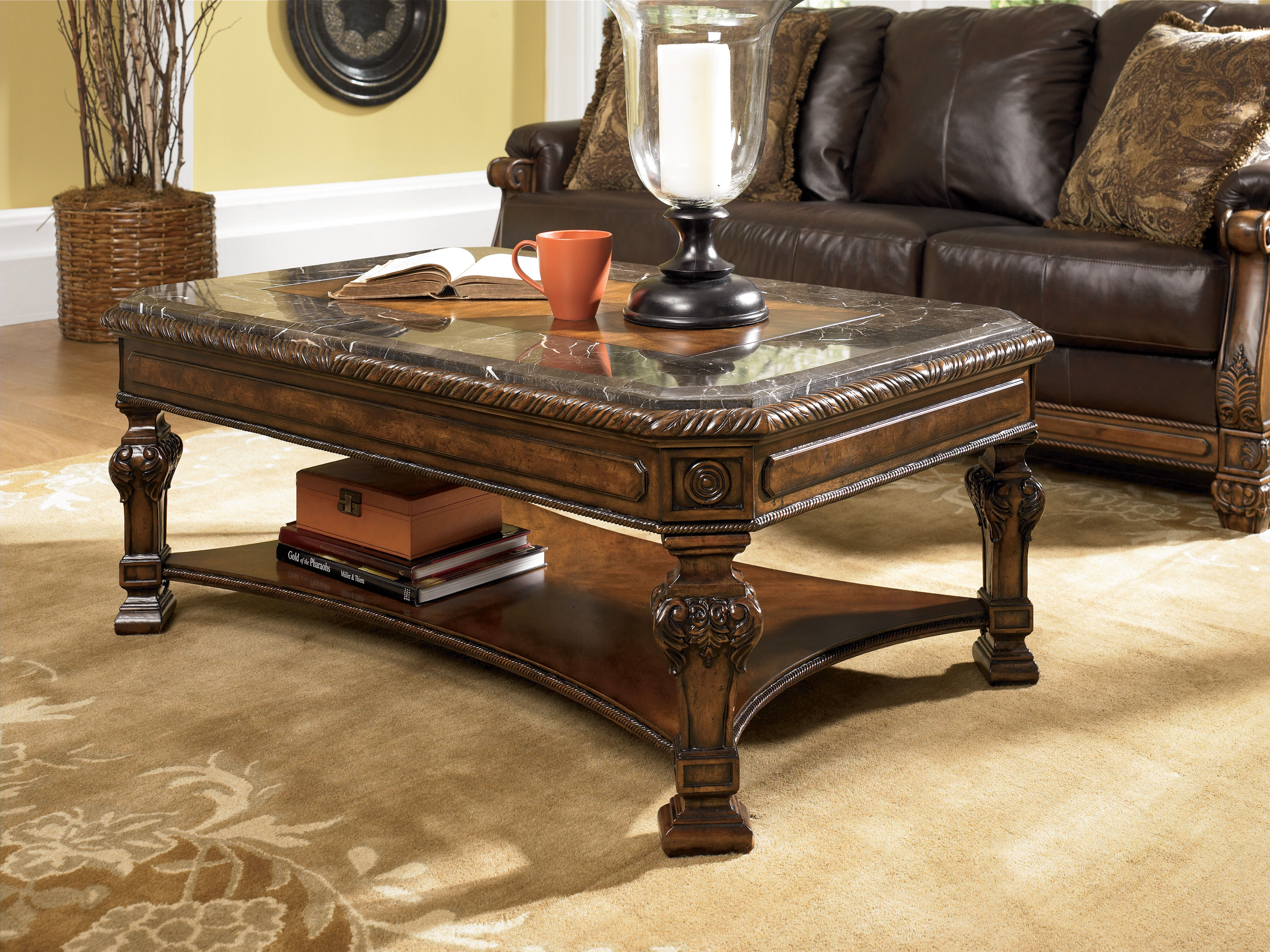 New hot deal deal of day daily deal 82 sold discontinued casa mollino old world dark brown cocktail table