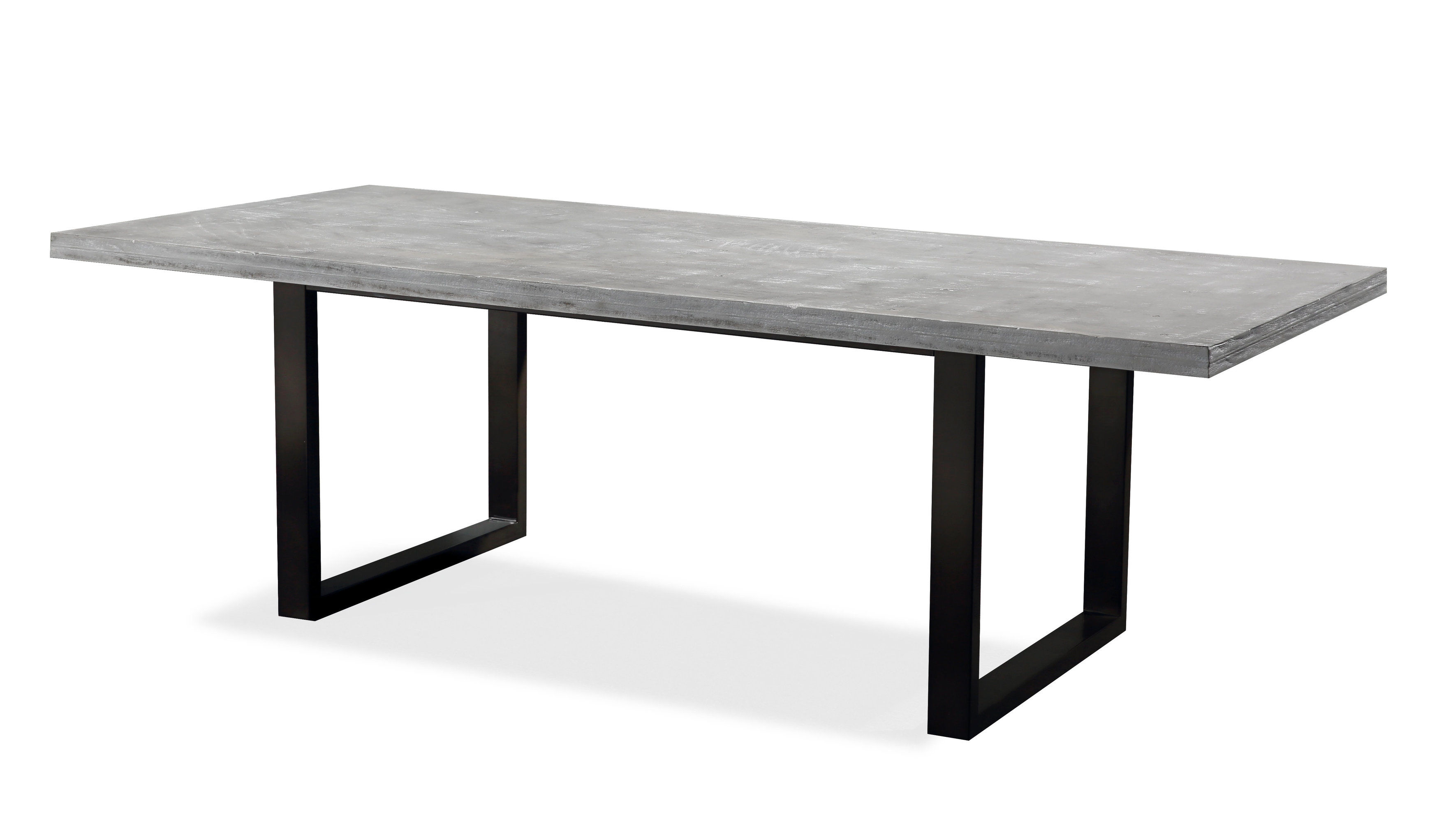 Tov Furniture Urban Light Washed Grey Dining Table Click To Enlarge