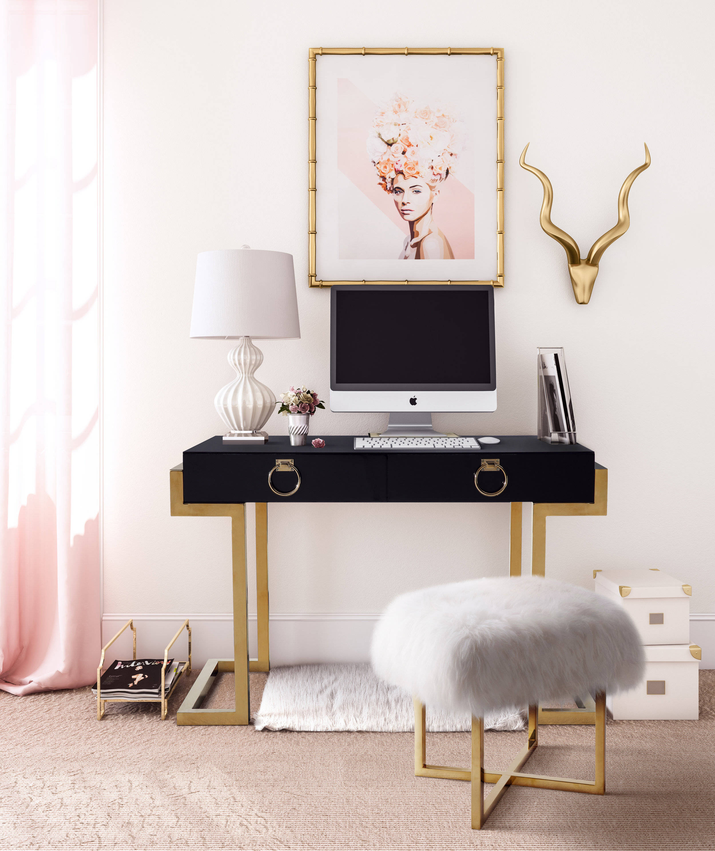 Tov Furniture Majesty Office Set The Classy Home