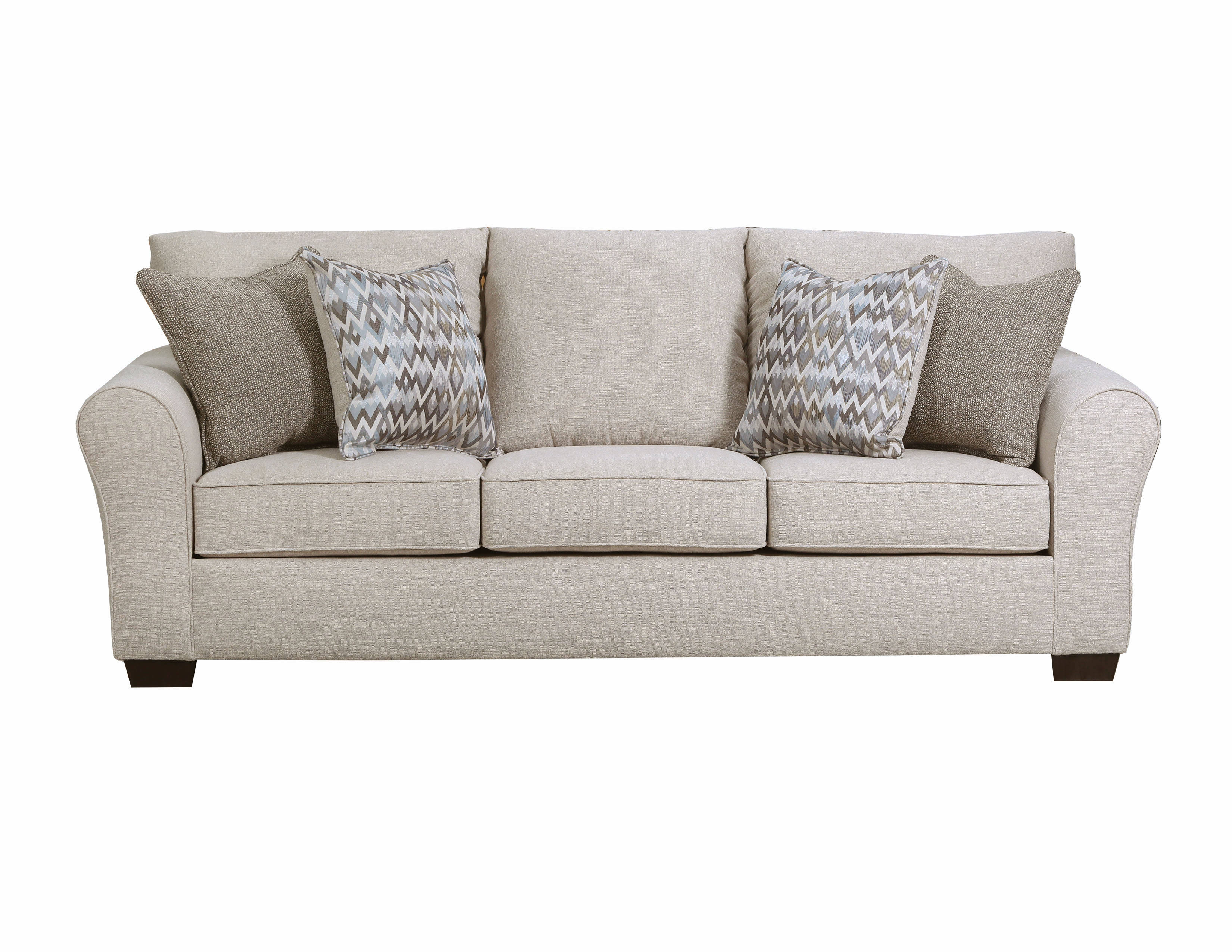 United Furniture Boston Linen Simmons Sofa Click To Enlarge ...