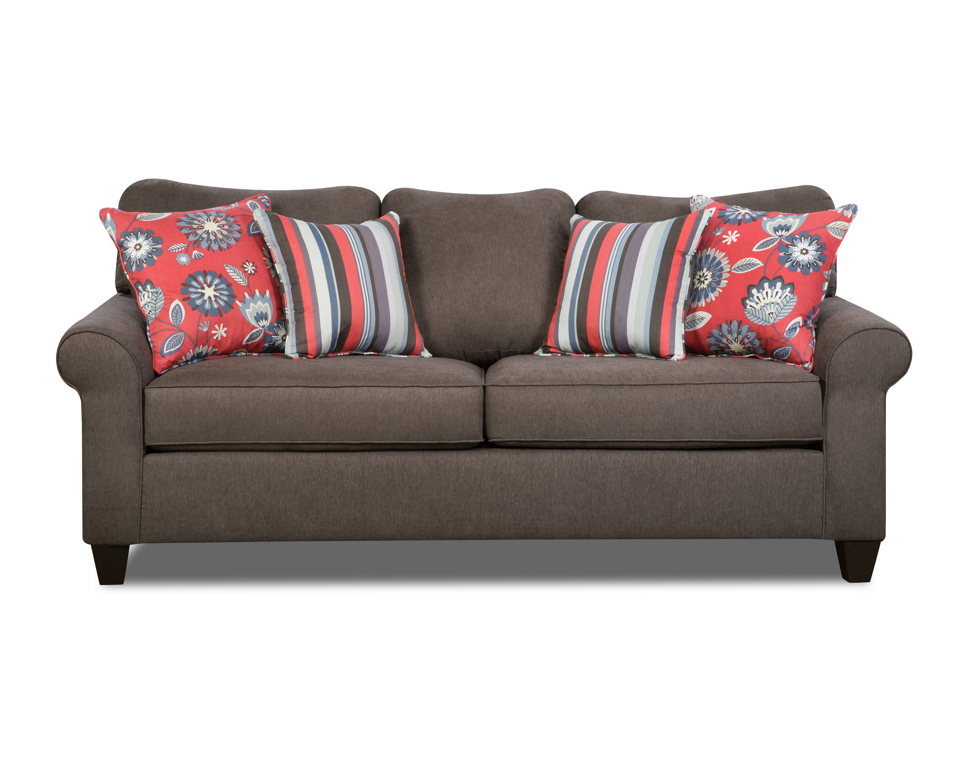 United Furniture Beachfront Cement Simmons Sofa