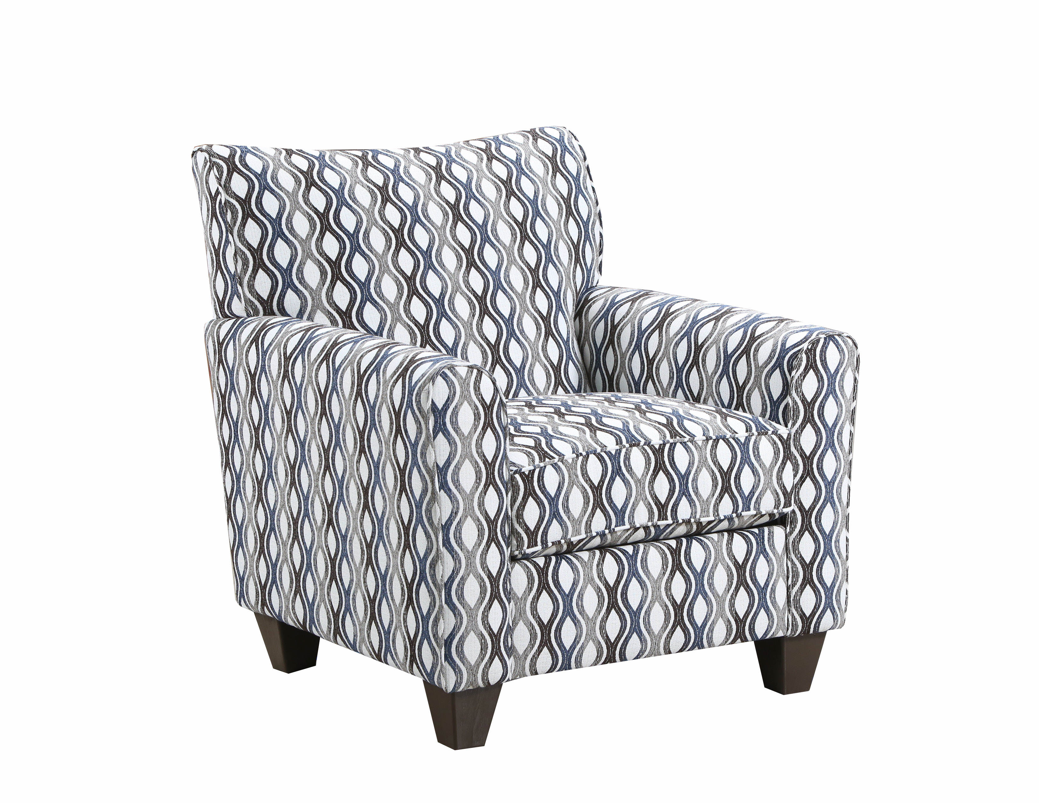 Remarkable United Furniture Simmons Denim Rialto Accent Chair Gmtry Best Dining Table And Chair Ideas Images Gmtryco