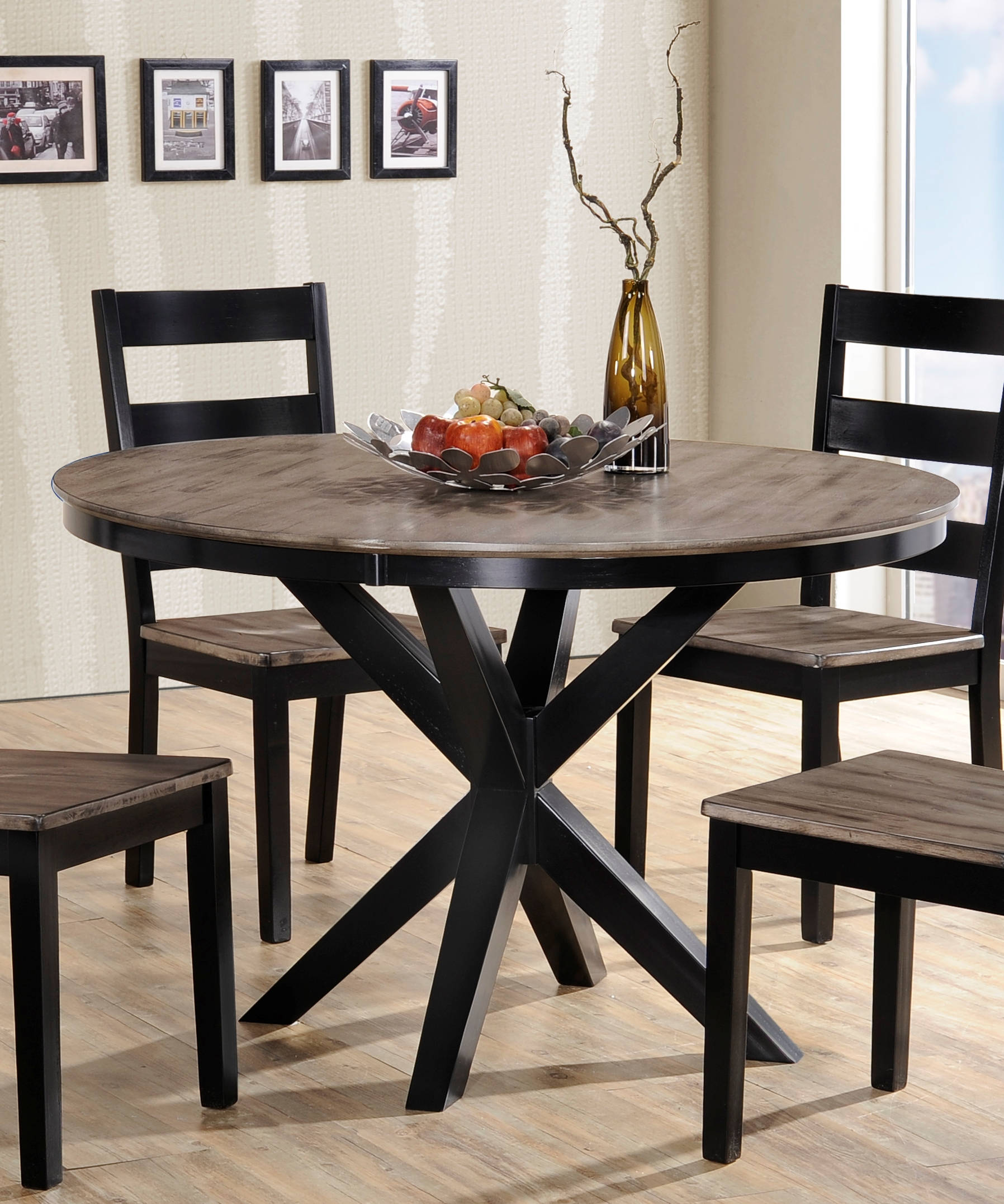 United Furniture South Beach Grey 48 Inch Dining Table Click To Enlarge