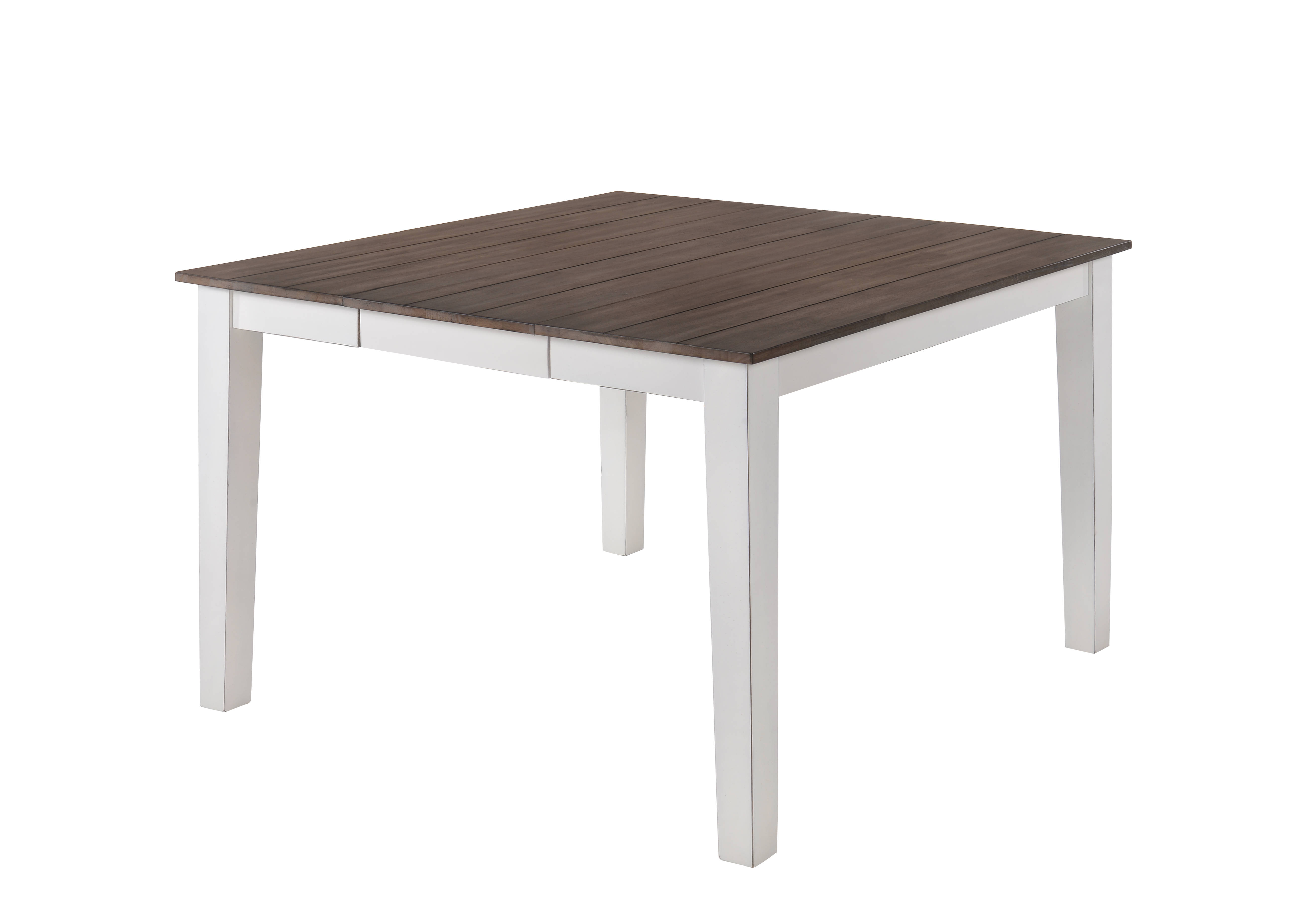 United Furniture A La Carte White Counter Height Table The Classy Home