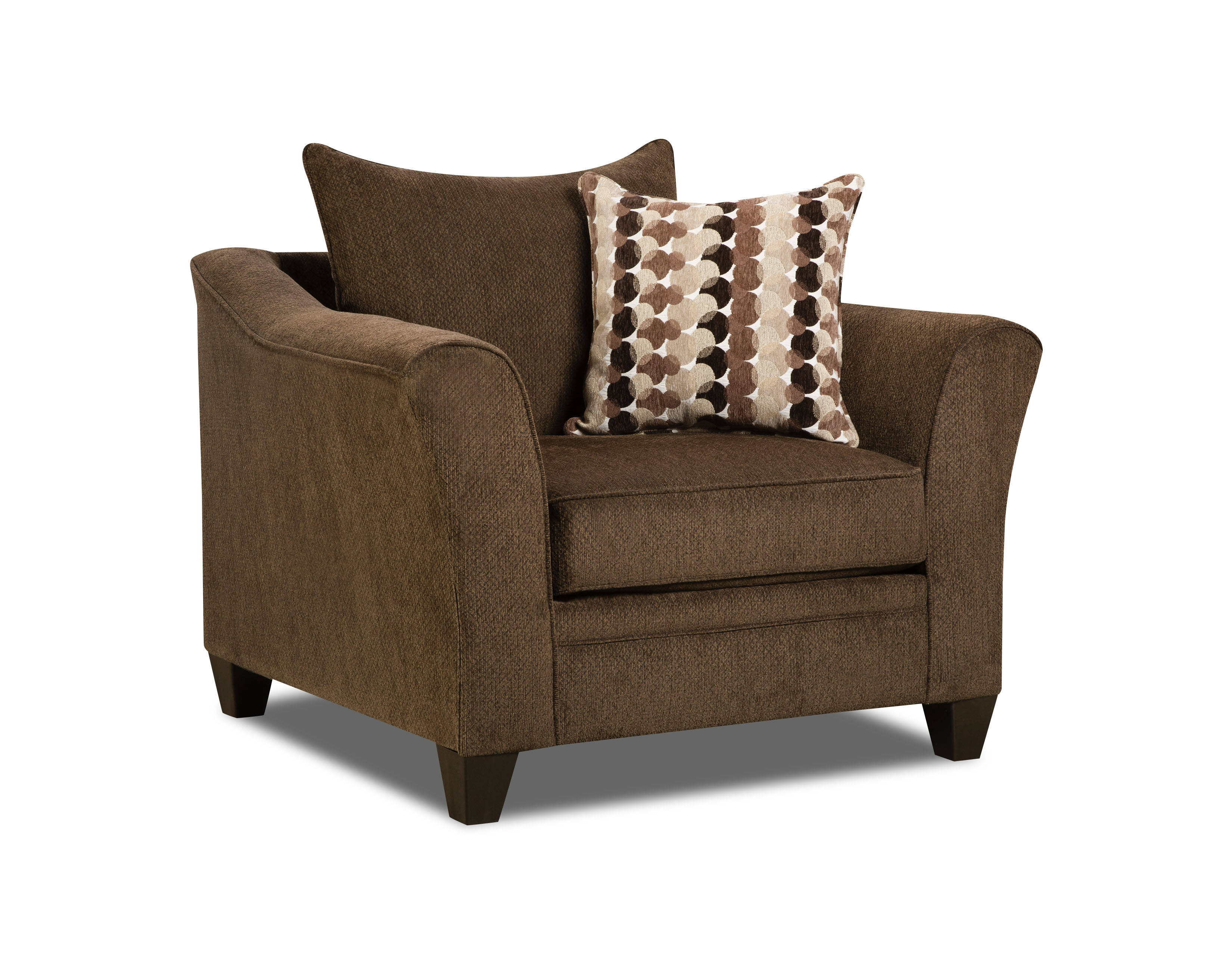 United Furniture Albany Chestnut Simmons Chair Click To Enlarge ...