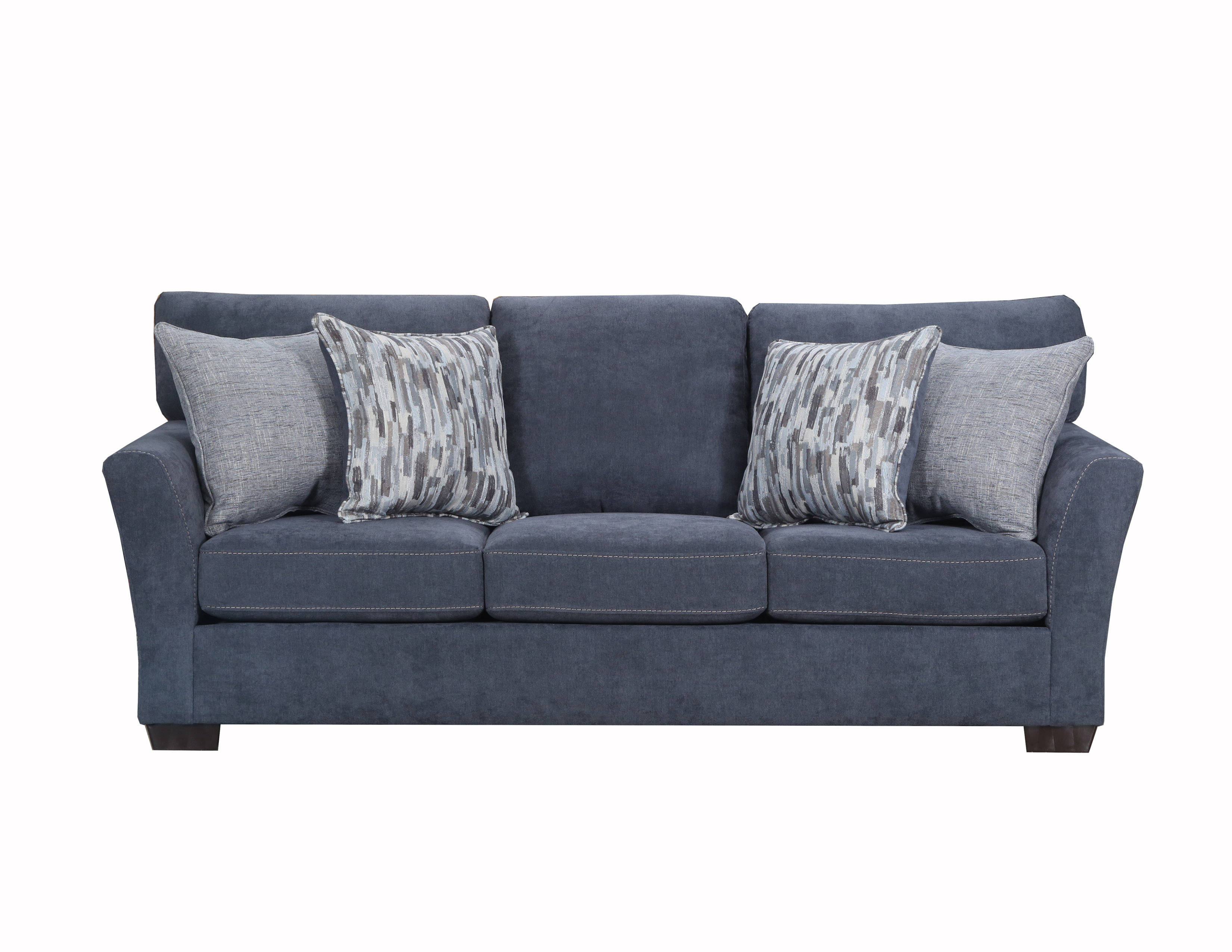 United Furniture Pacific Steel Simmons Sofa