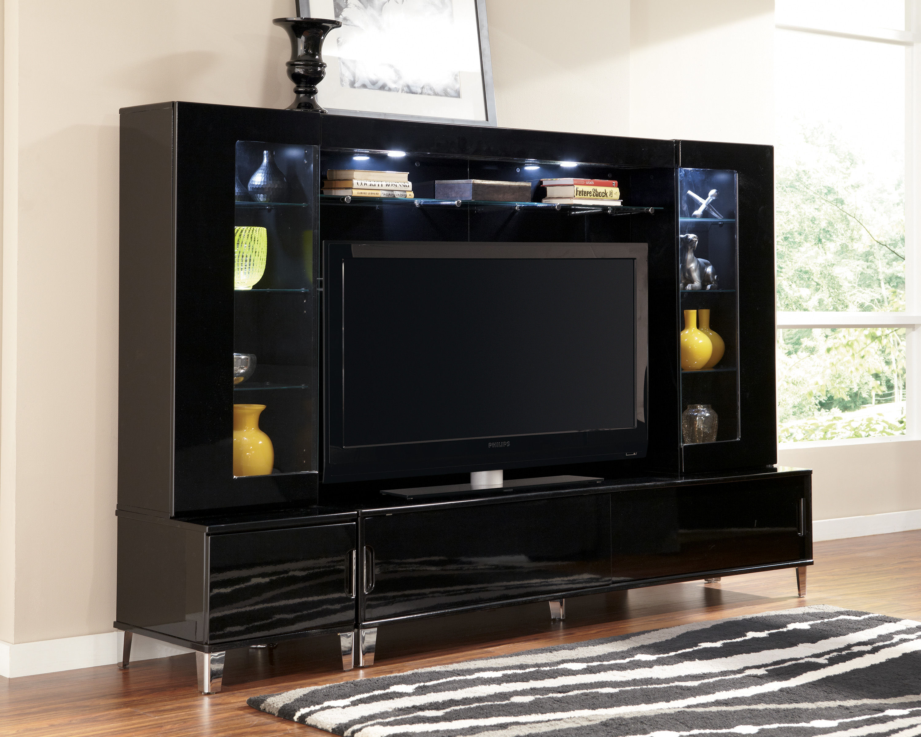 Howick Entertainment Center W Extra Large Tv Stand