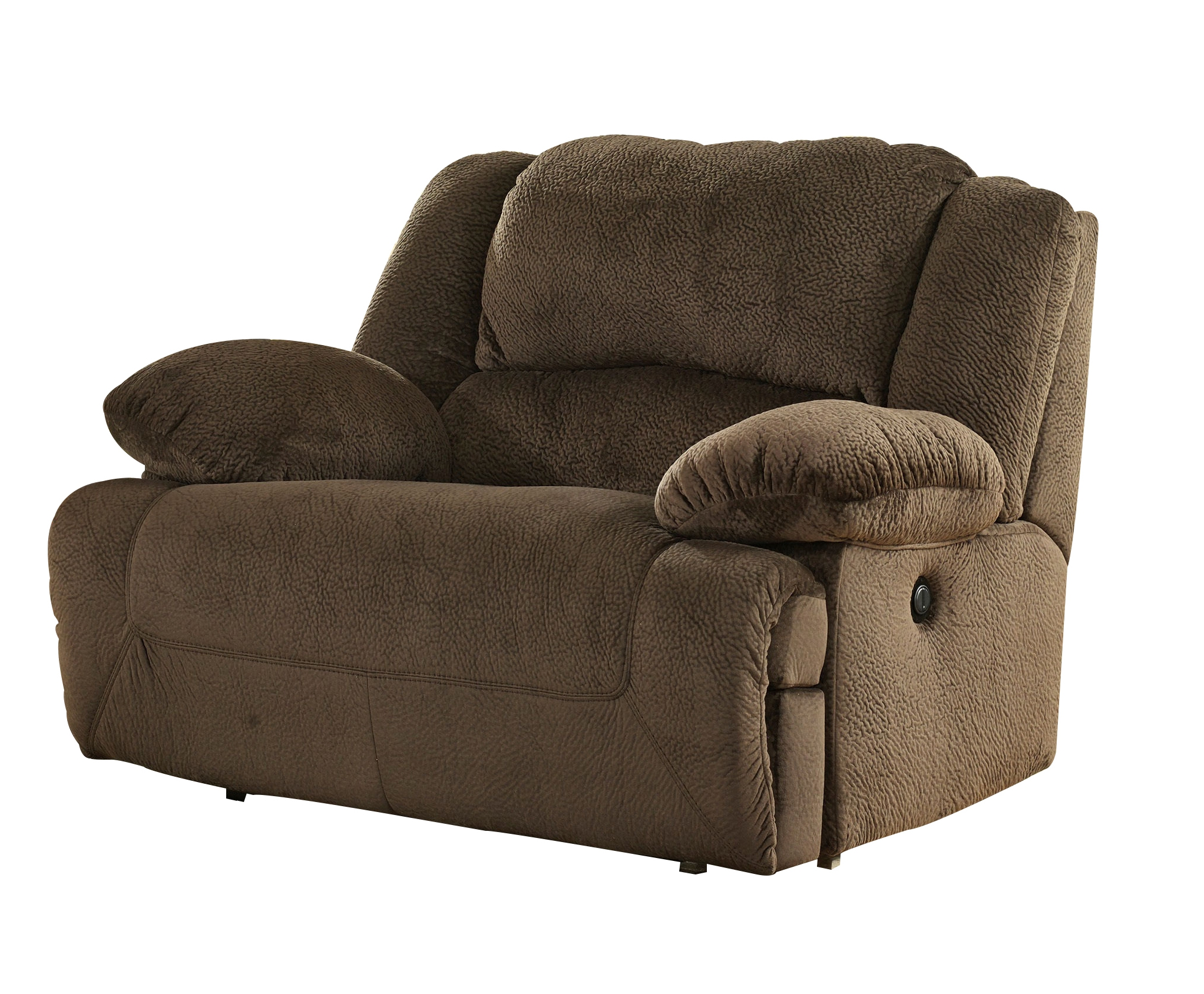 lay recliner wide catnapper with furniture and extra by three seat wolf way flat products