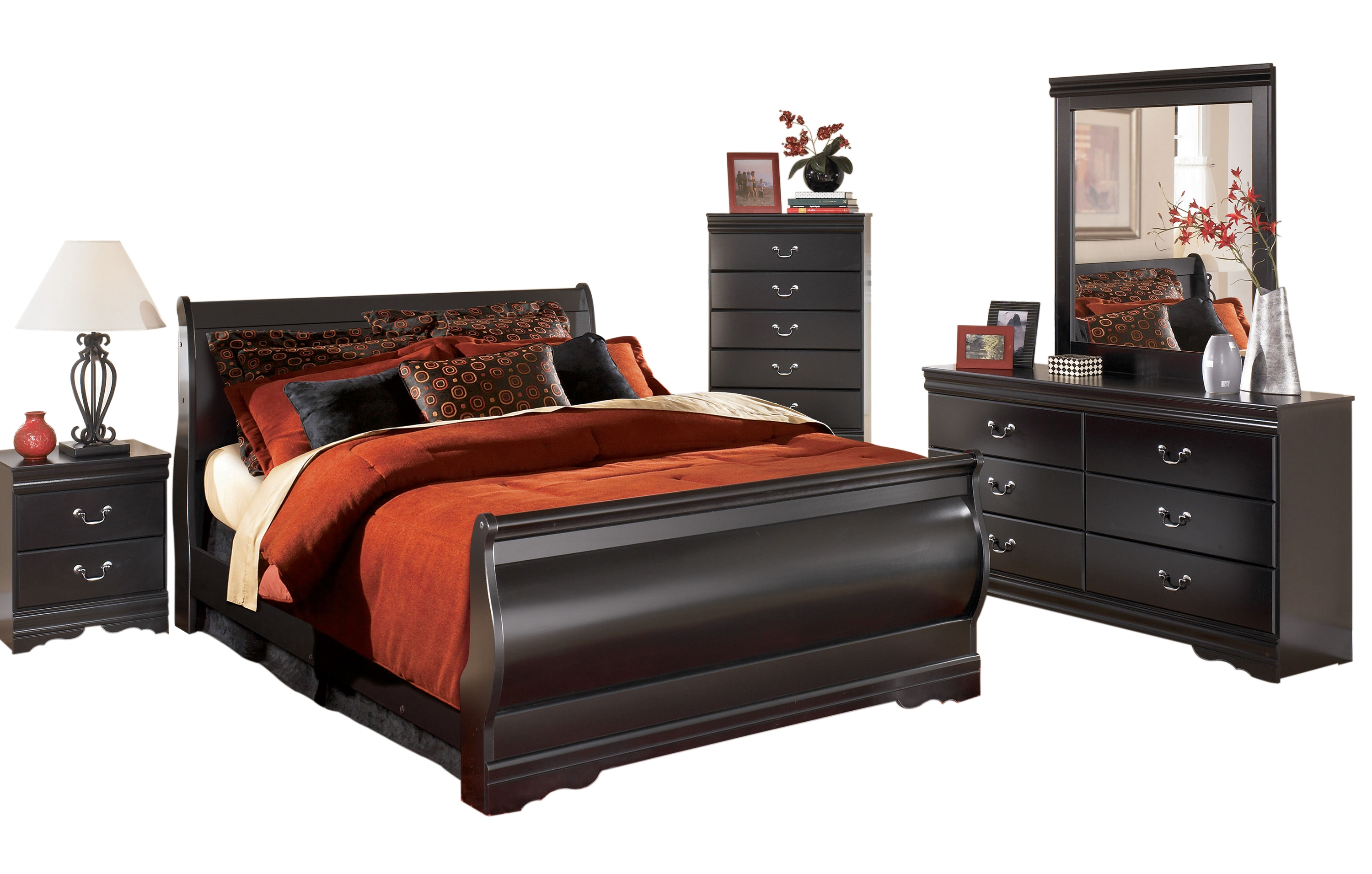 Ashley furniture huey vineyard master bedroom set the classy home No dresser in master bedroom