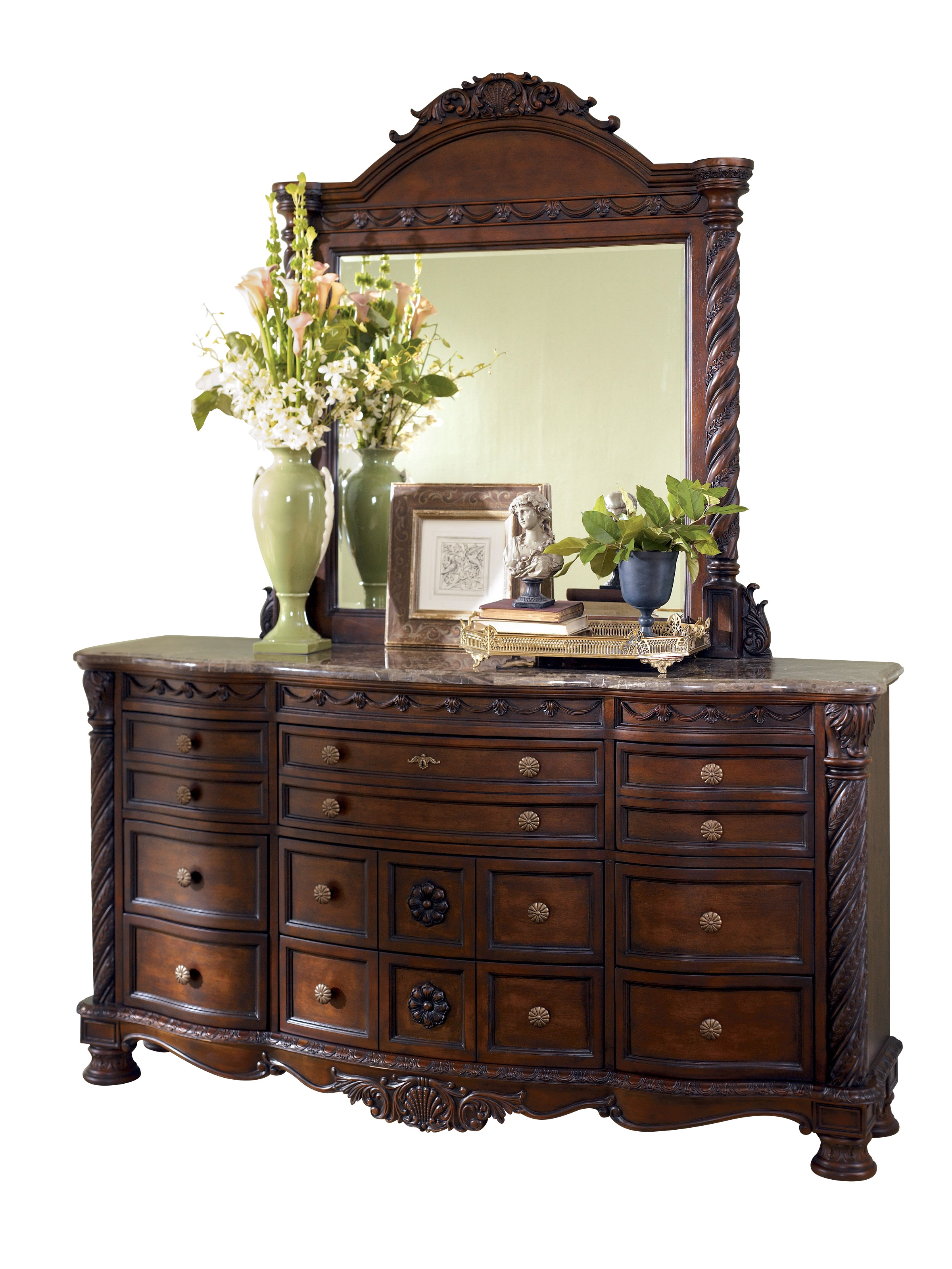 american park by dresser mirror size full mirrored unique large drew set nightstand studio black and of