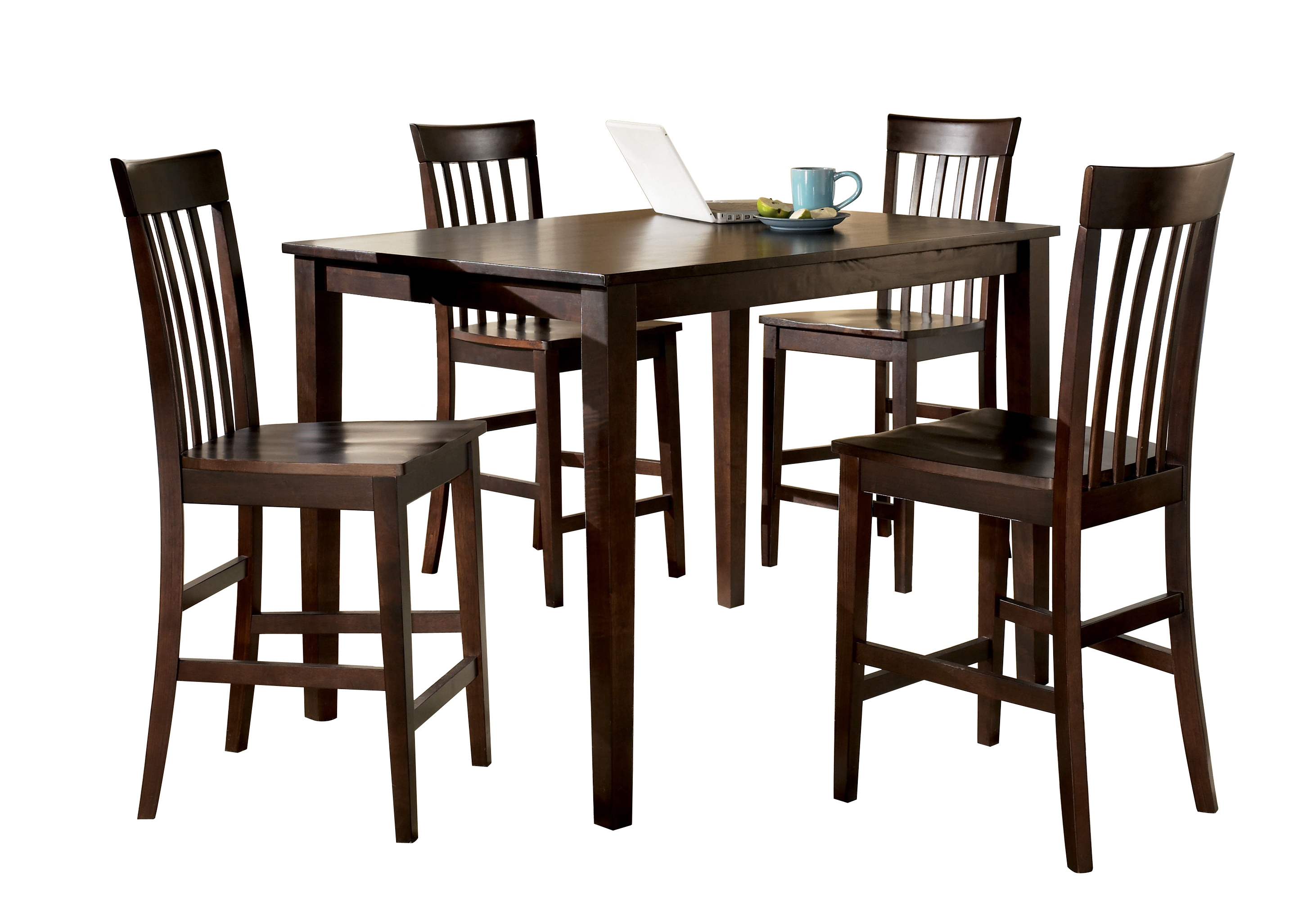 Ashley Furniture Hyland 5pc Counter Table Set The Classy Home