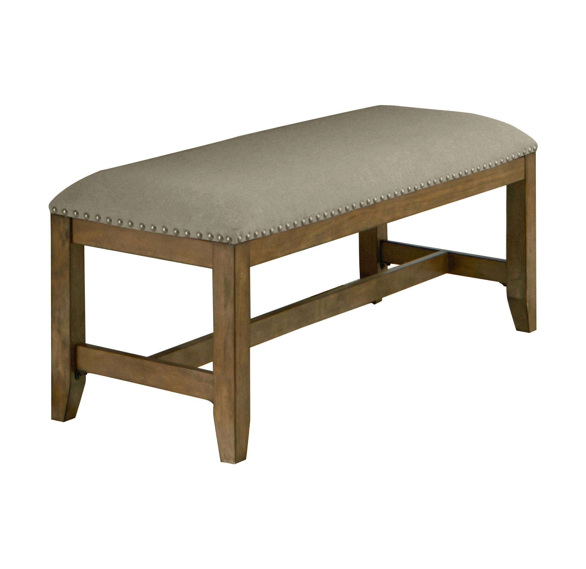 Summer Kitchen Omaha: Standard Furniture Omaha Grey Upholster Bench