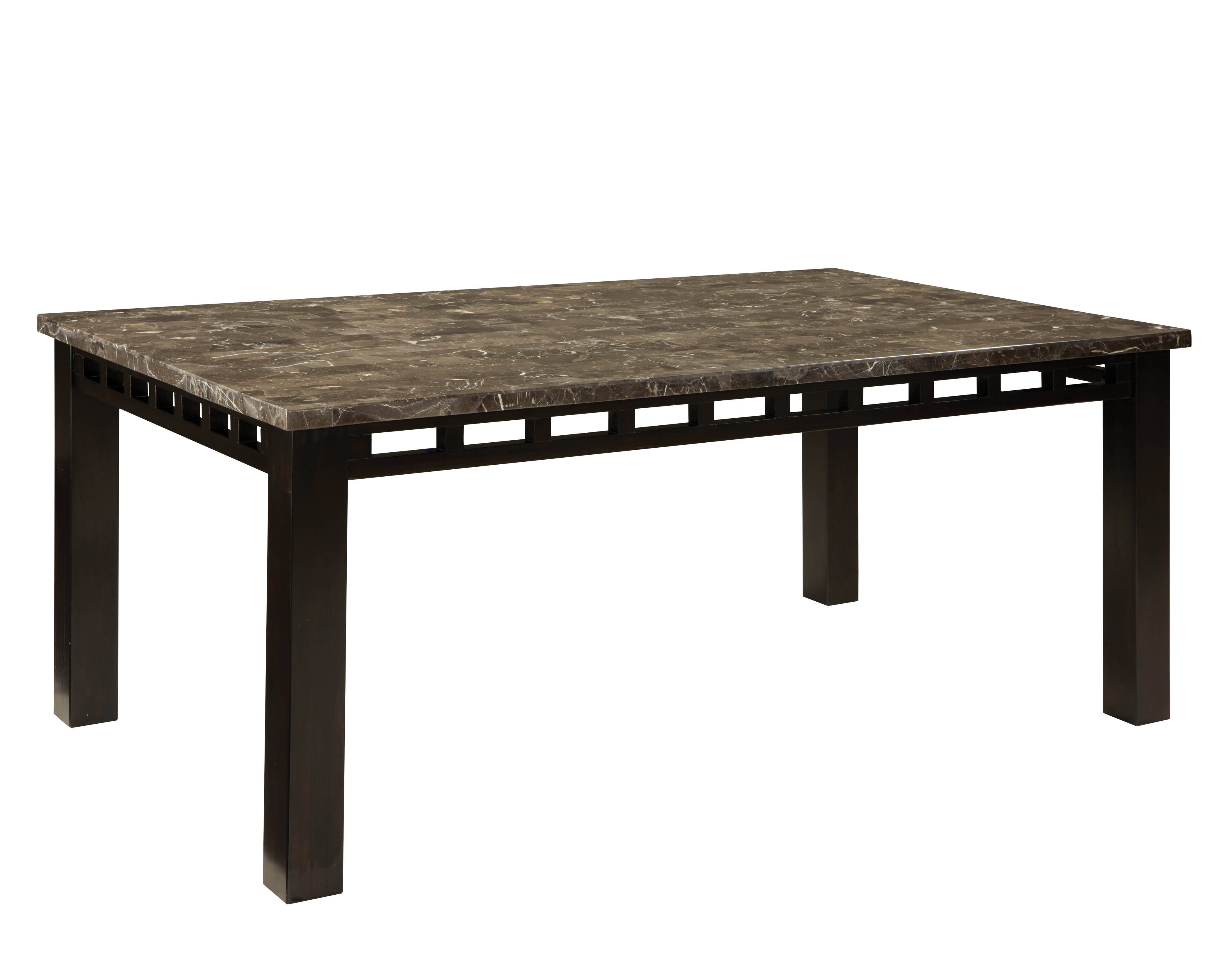 ac72569224be Standard Furniture Gateway Dark Chicory Brown Rectangle Dining Table Click  To Enlarge ...