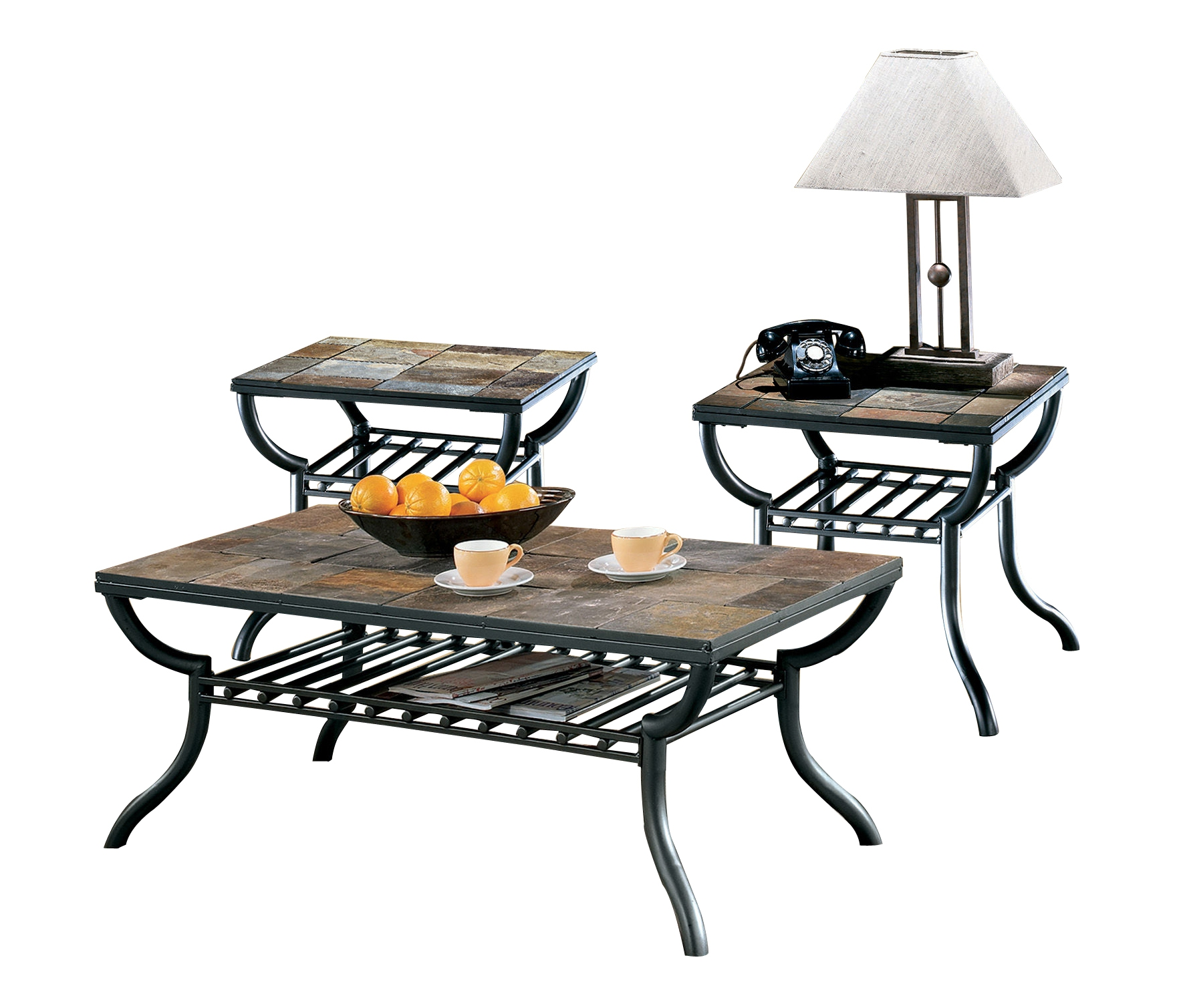 Ashley Furniture Discontinued: Ashley Furniture Antigo 3pc Coffee Table Set
