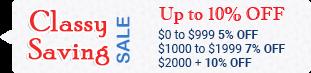 Classy Saving Sale