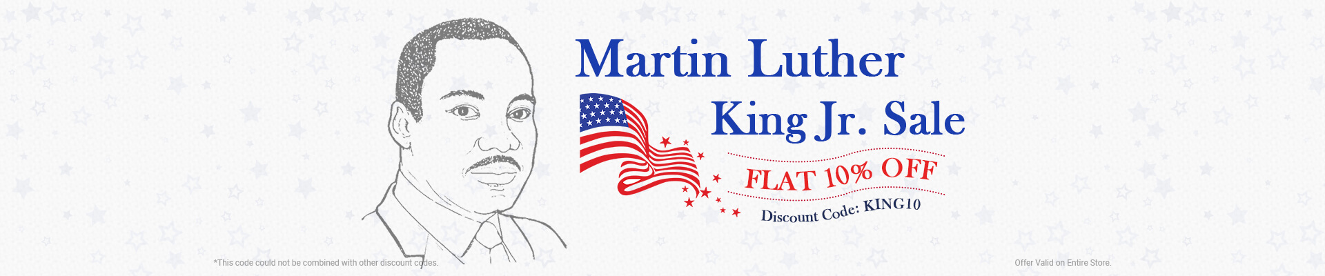 Martin Luther King Jr. Sale