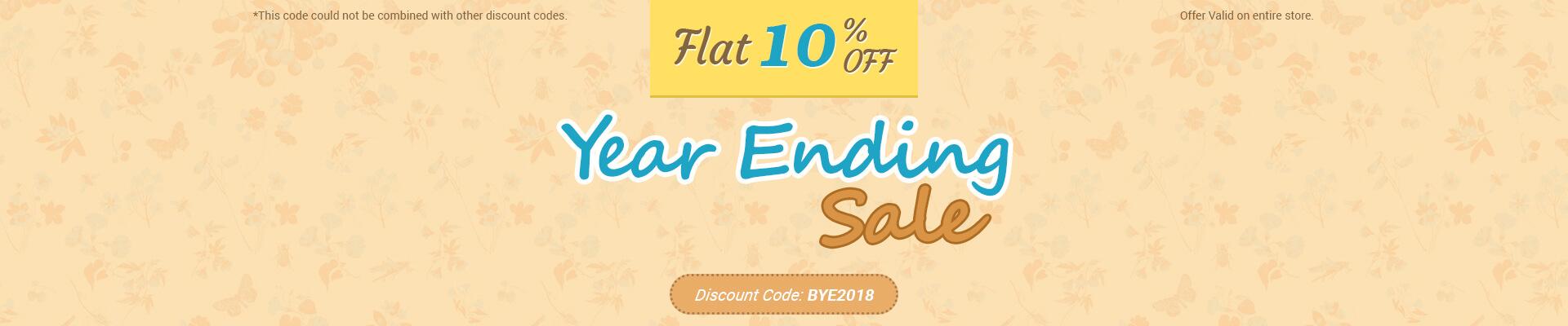 Year Ending Sale
