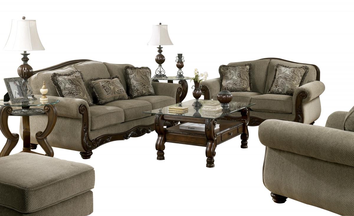Ashley Furniture Martinsburg Meadow 4pc Living Room Set ...