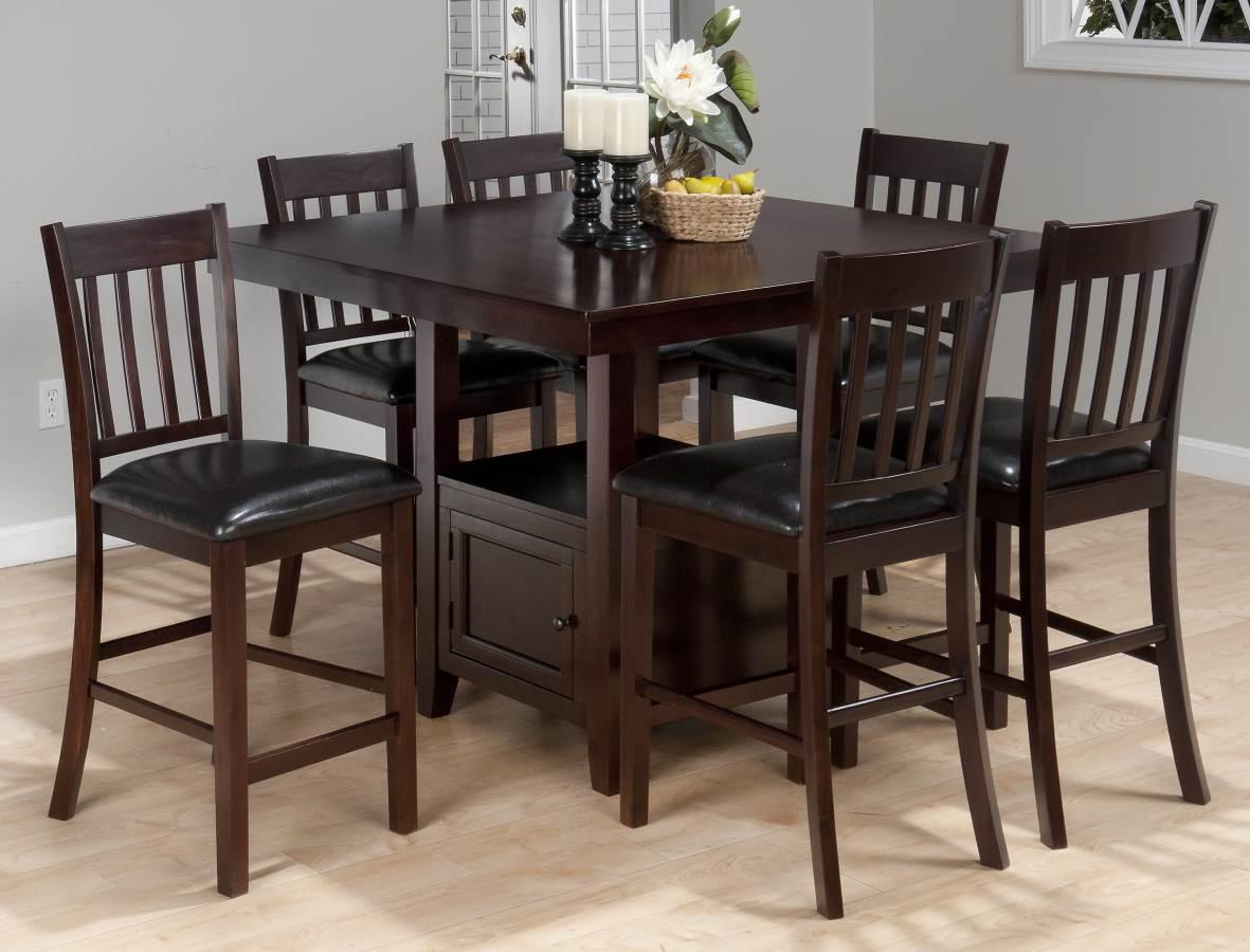 Jofran Furniture Tessa 5pc Bar Set The Classy Home