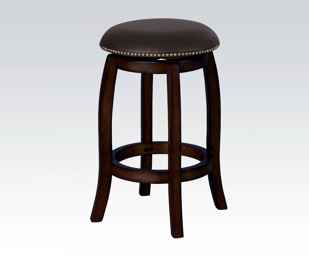 Acme Furniture Chelsea Black Espresso Swivel Counter