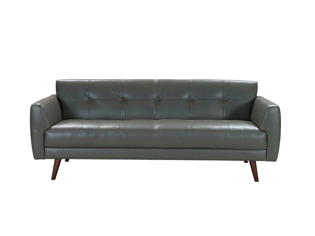 Acme Furniture Adda Gray Leather Sofa