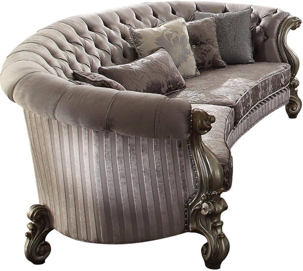 Marvelous Acme Furniture Versailles Antique Nailhead Sofa Pabps2019 Chair Design Images Pabps2019Com